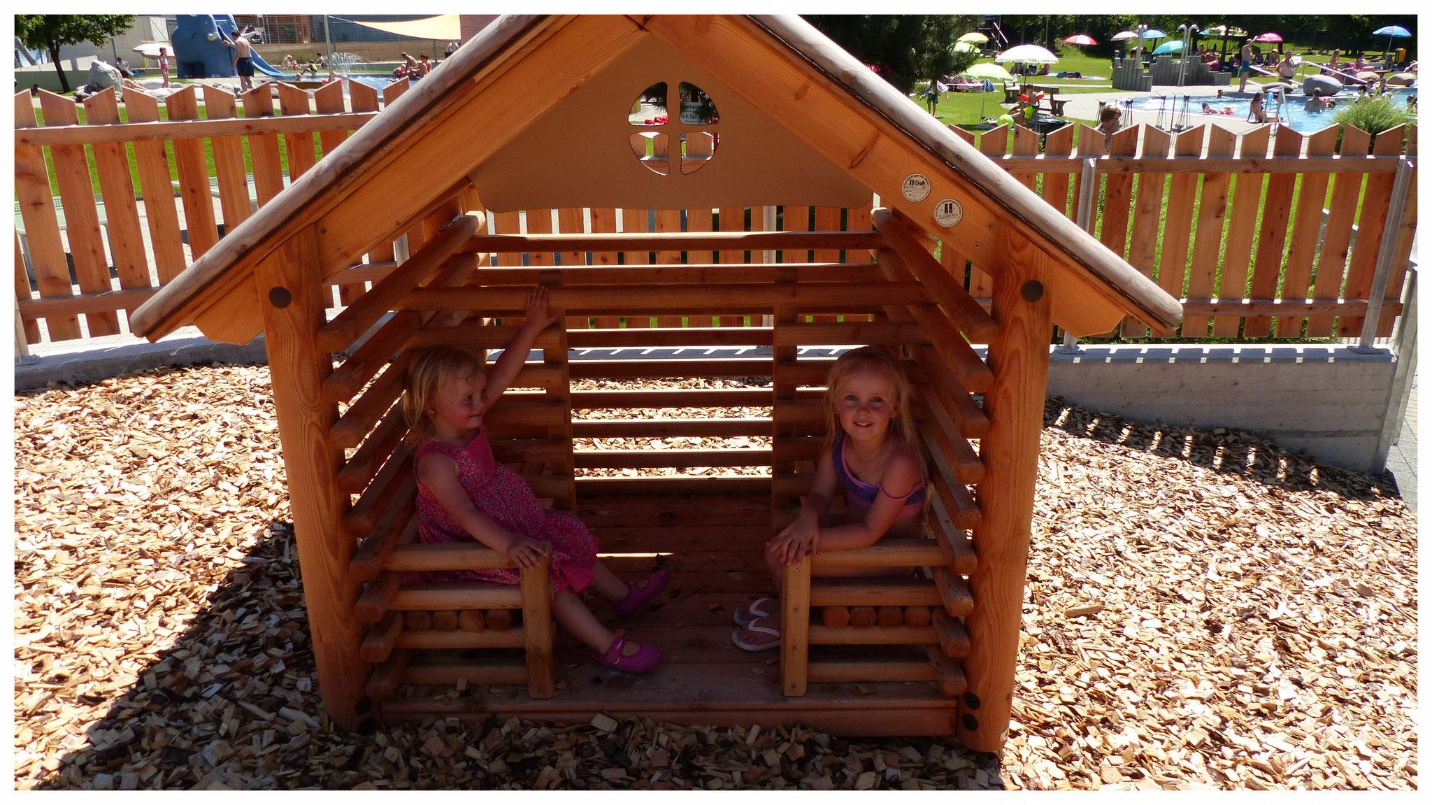 Kinderspielplatz Terrasse
