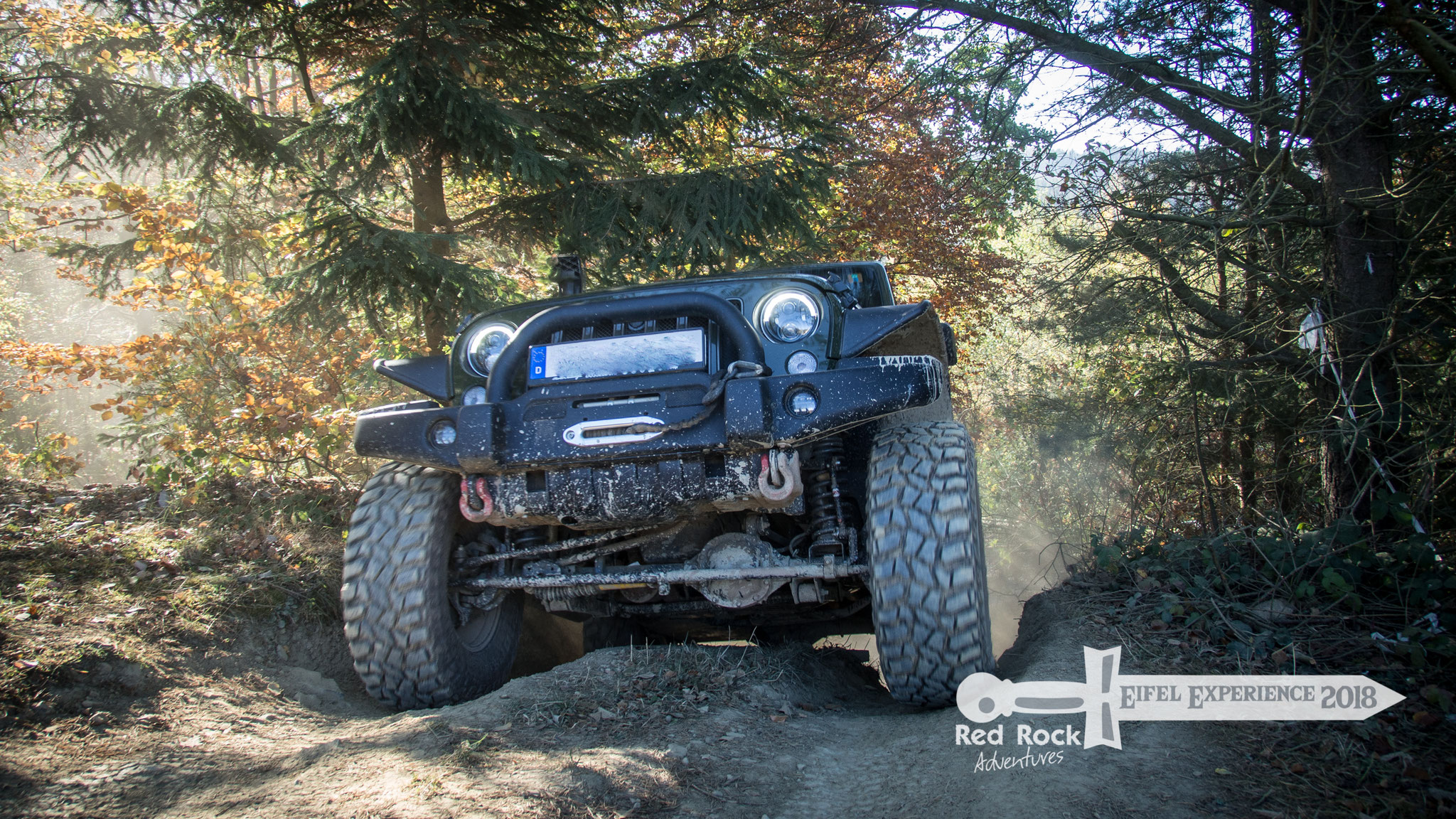 Red Rock Adventures - Eifel Experience - Oktober 2018