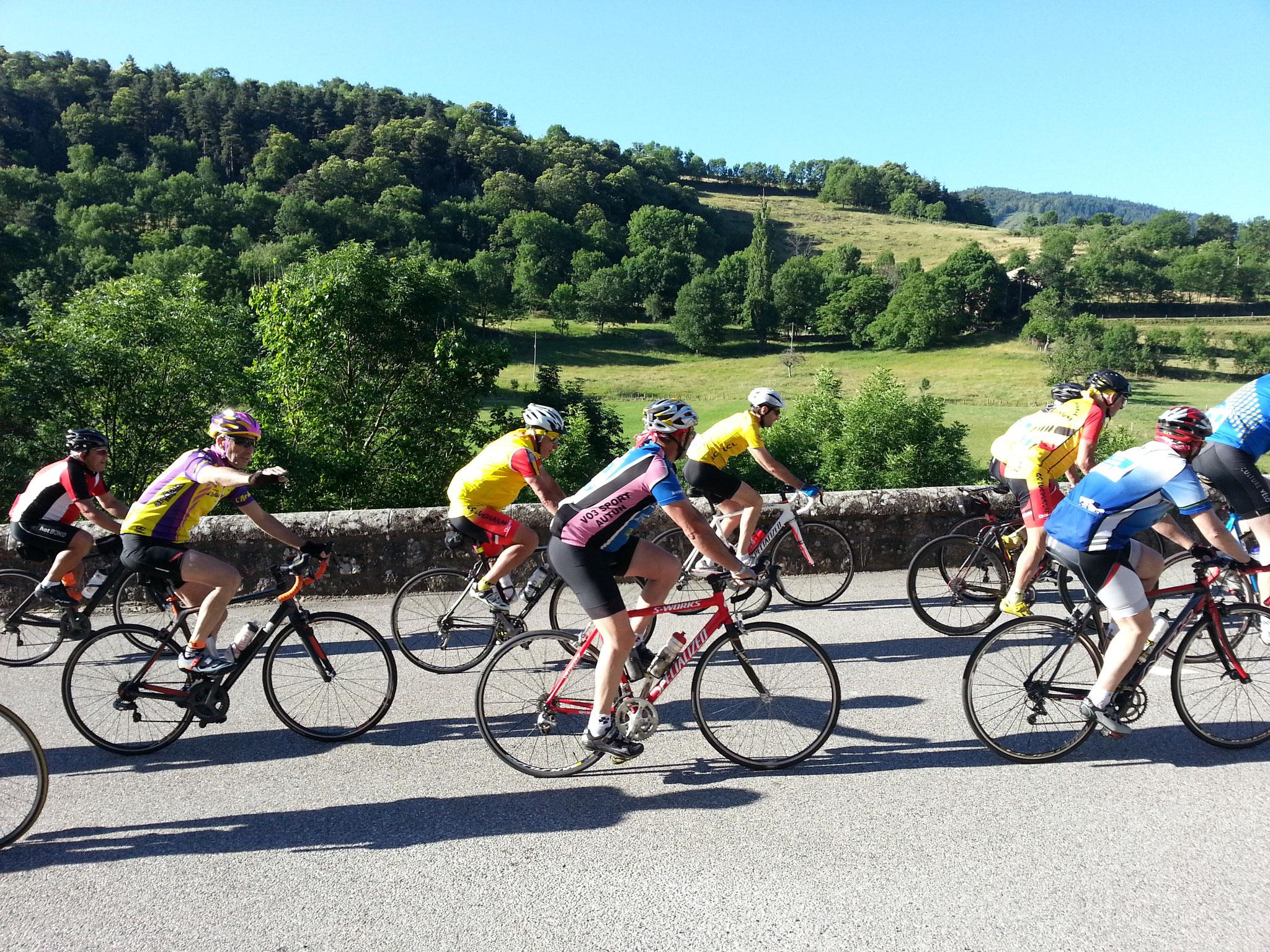 de grote fietstocht L'Ardéchoise