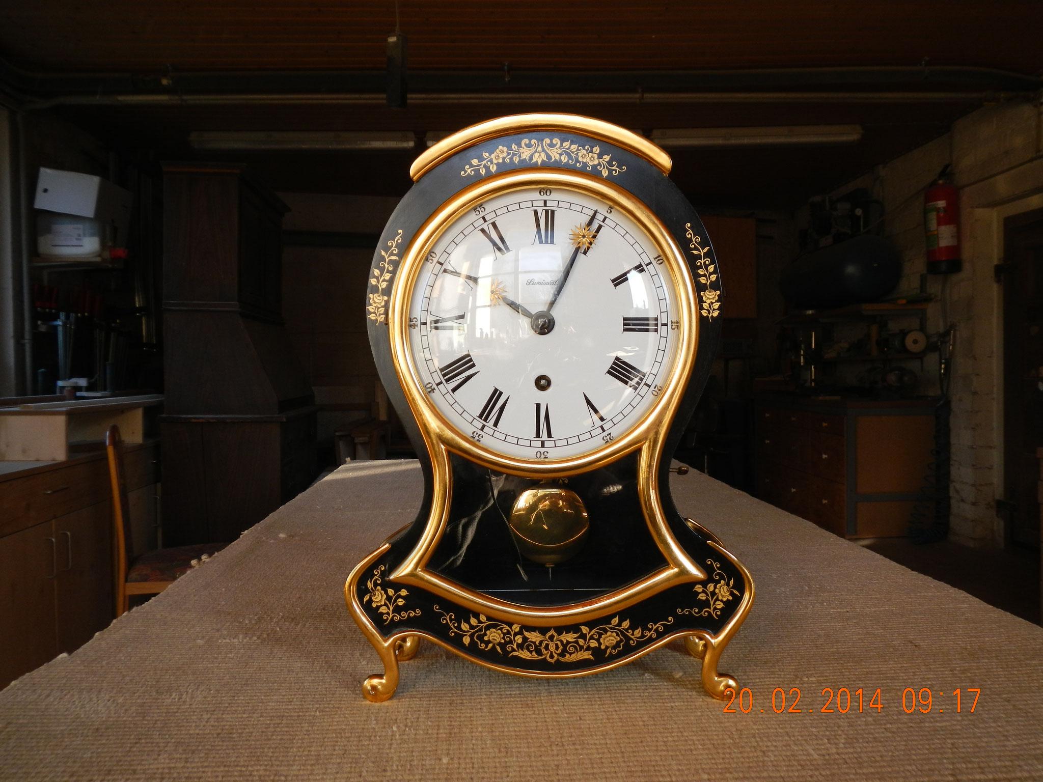 Reparatur Uhrengehäuse