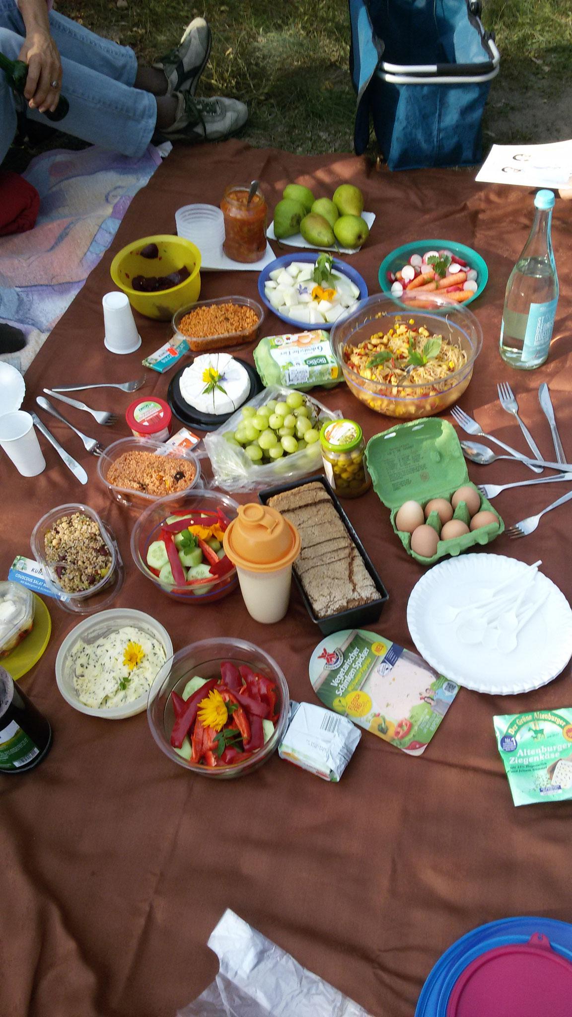 Picknick mit Kunden, Brotbackkurse, Schnelle gesunde Küche Waldenburg