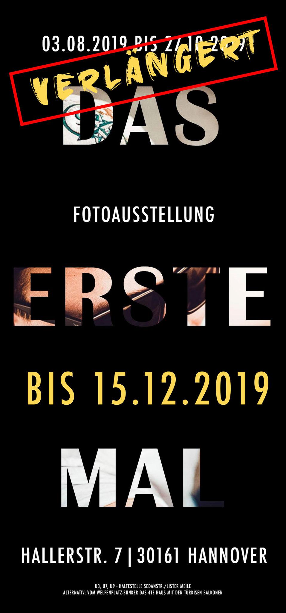 Flyer | Fotoausstellung | DAS ERSTE MAL | 03.08. - 15.12.2019 in Hannover