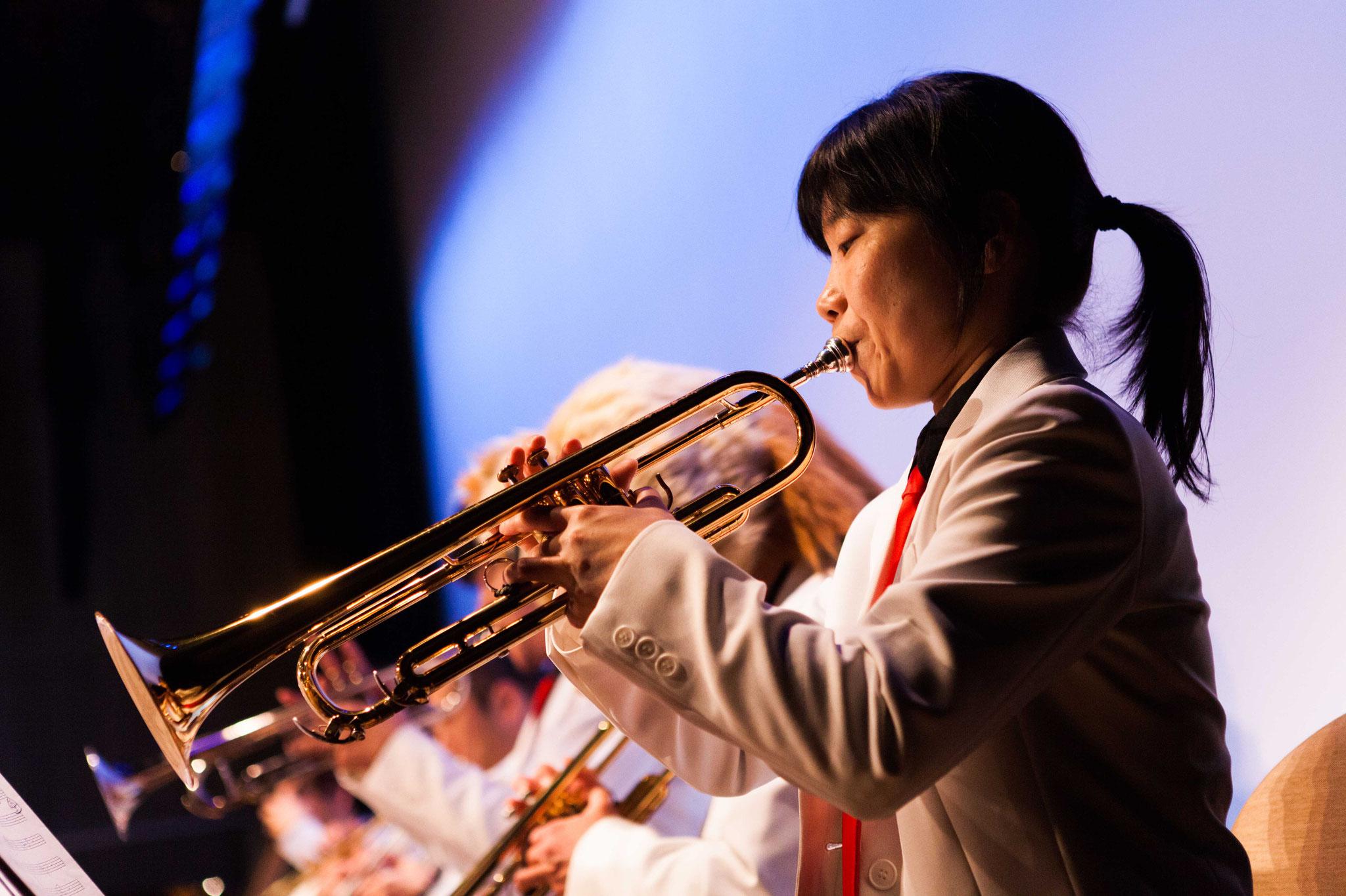清水まるこ(trumpet,arranger,composer)