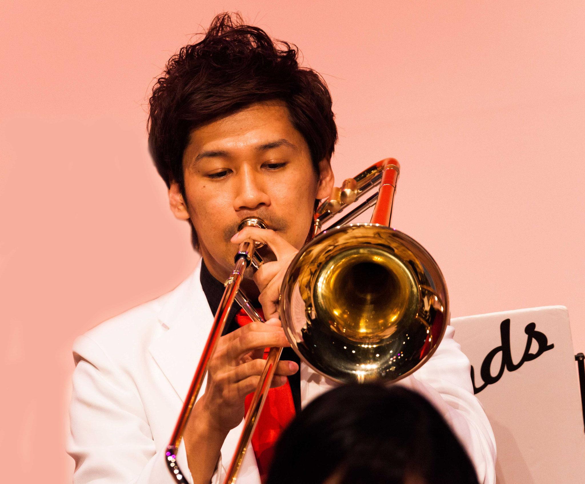 関山博史(trombone,arranger,composer)