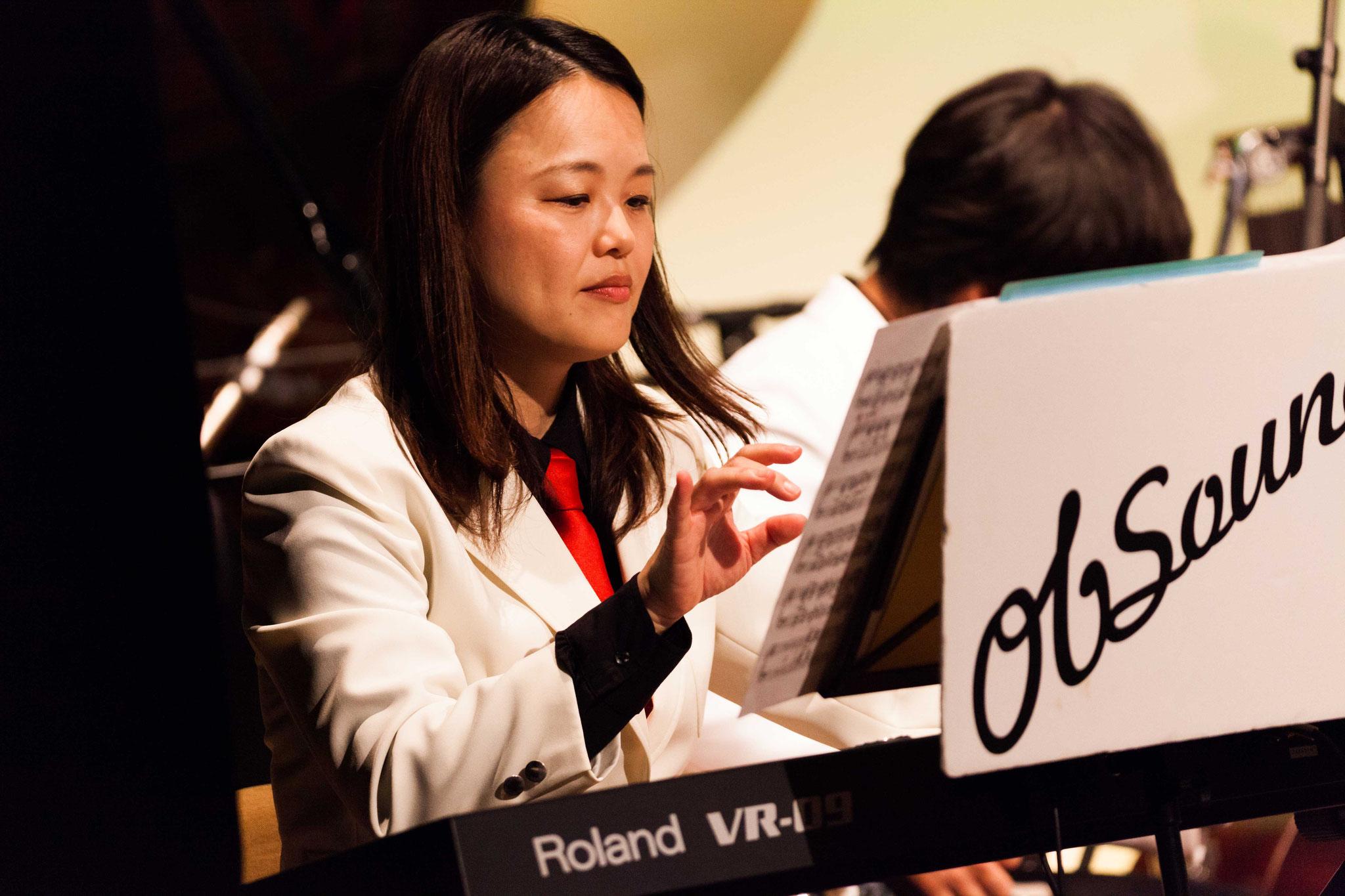 永野百合子(keyboad,piano,arranger,manager)