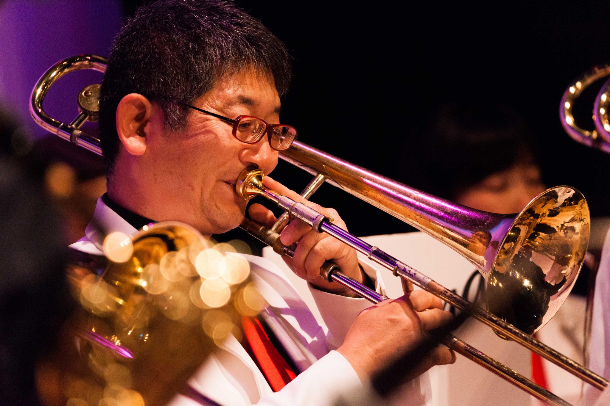 益田栄壮(trombone,vocal,ukurere)