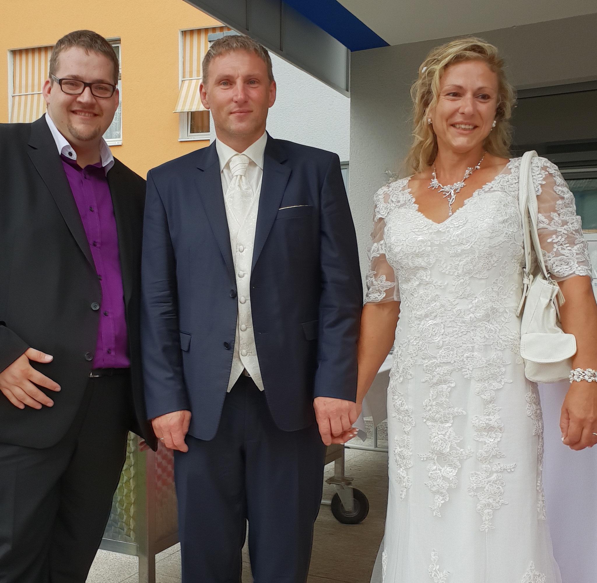 Hochzeit in Riedstadt / Hessen