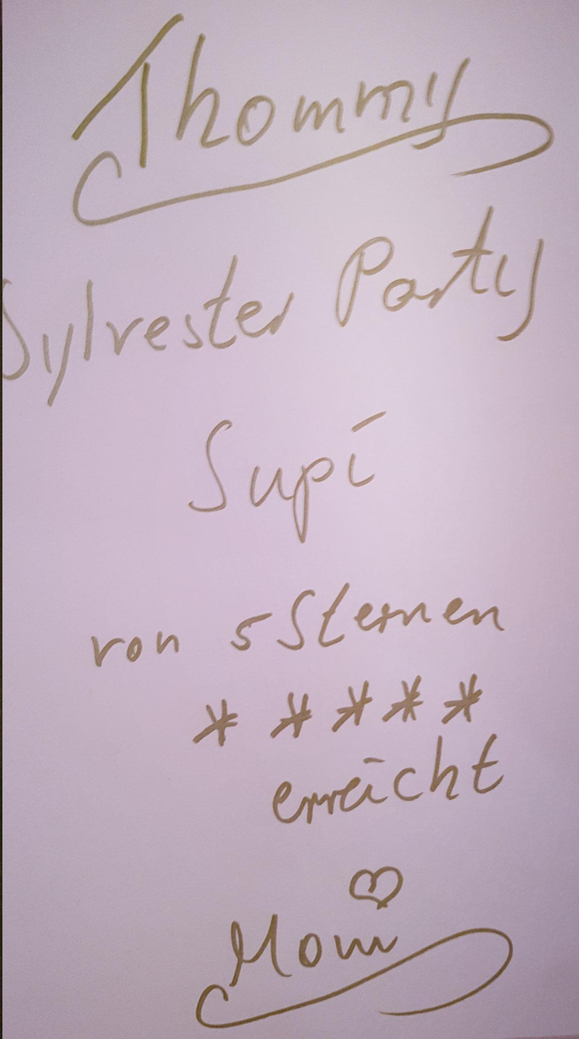 Kundenmeinung für eine Sylvestersause in Ludwigshafen