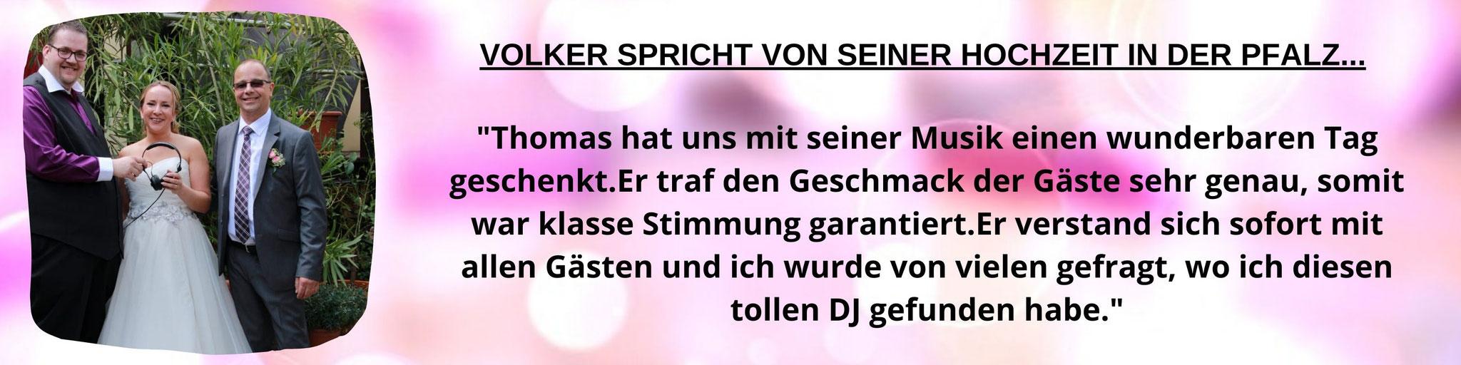 DJ Hochzeit Bensheim