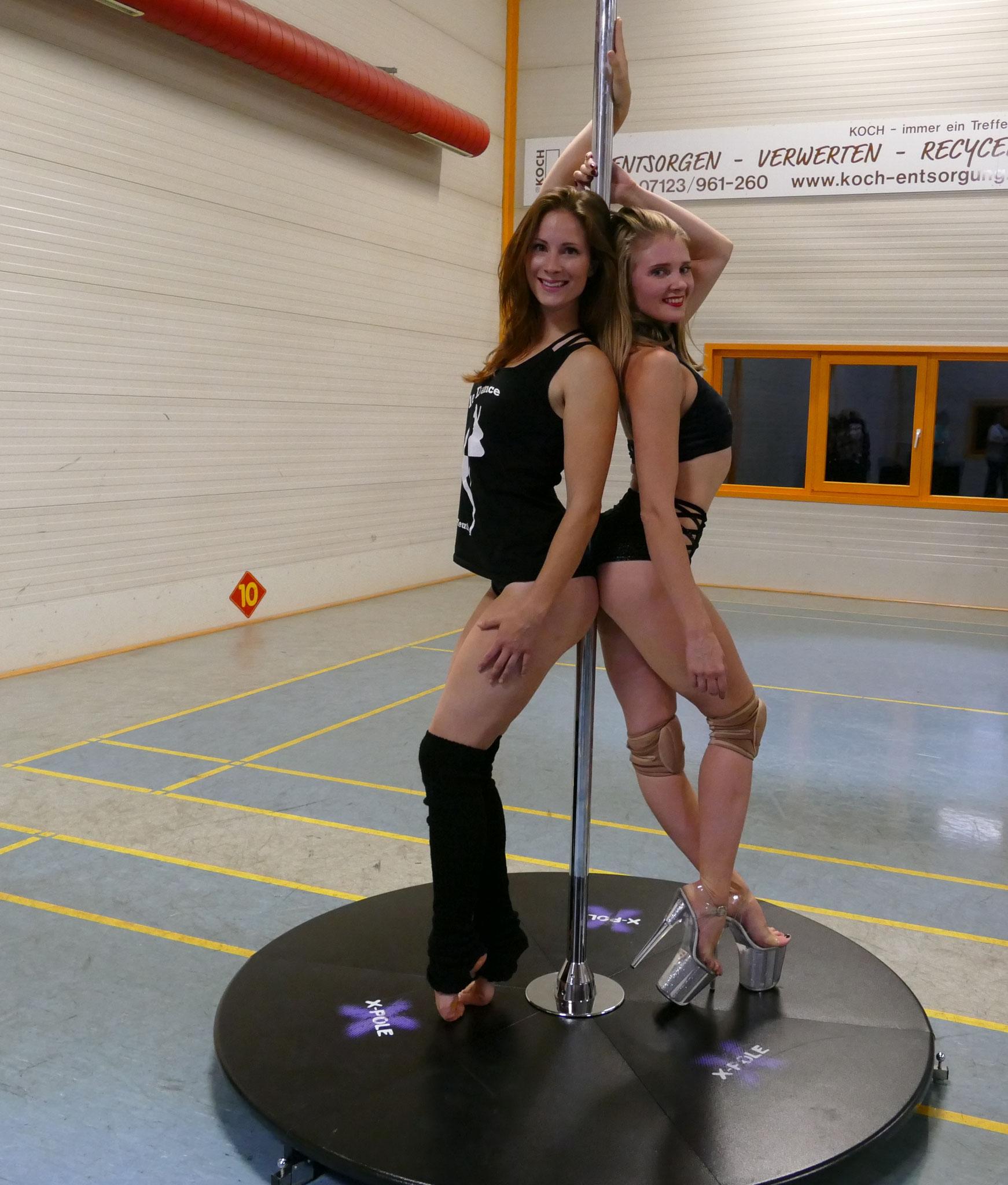Olga Spezia und Stefanie Riehle