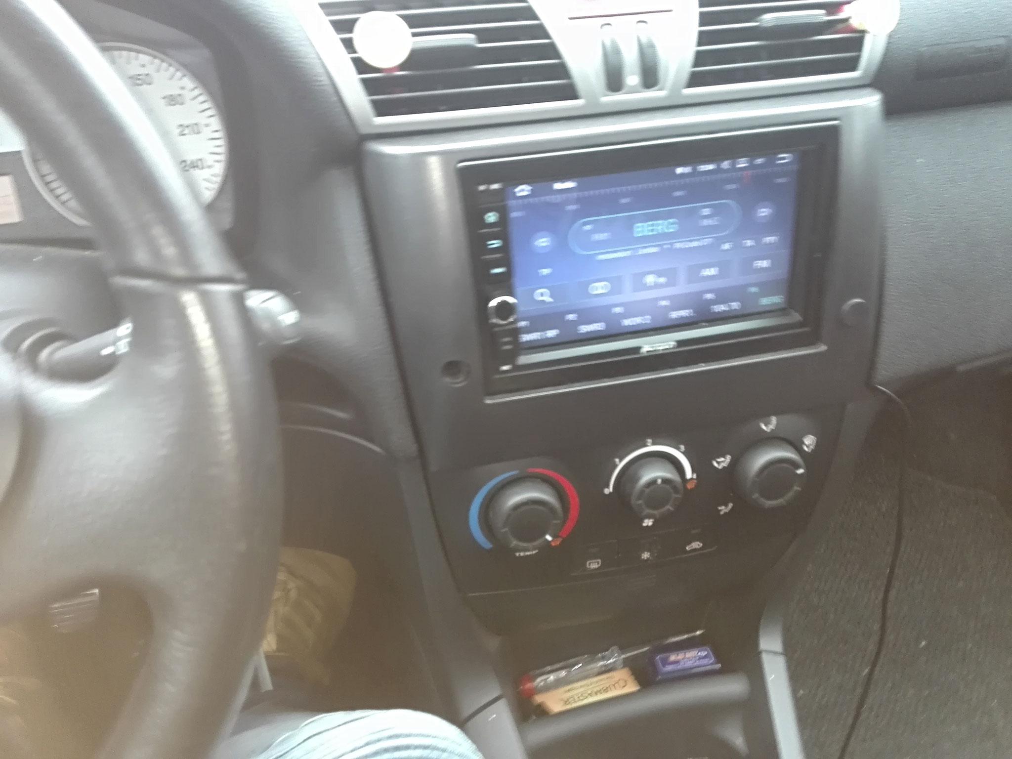 Din2 Radio nachgerüstet inkl. CanBus