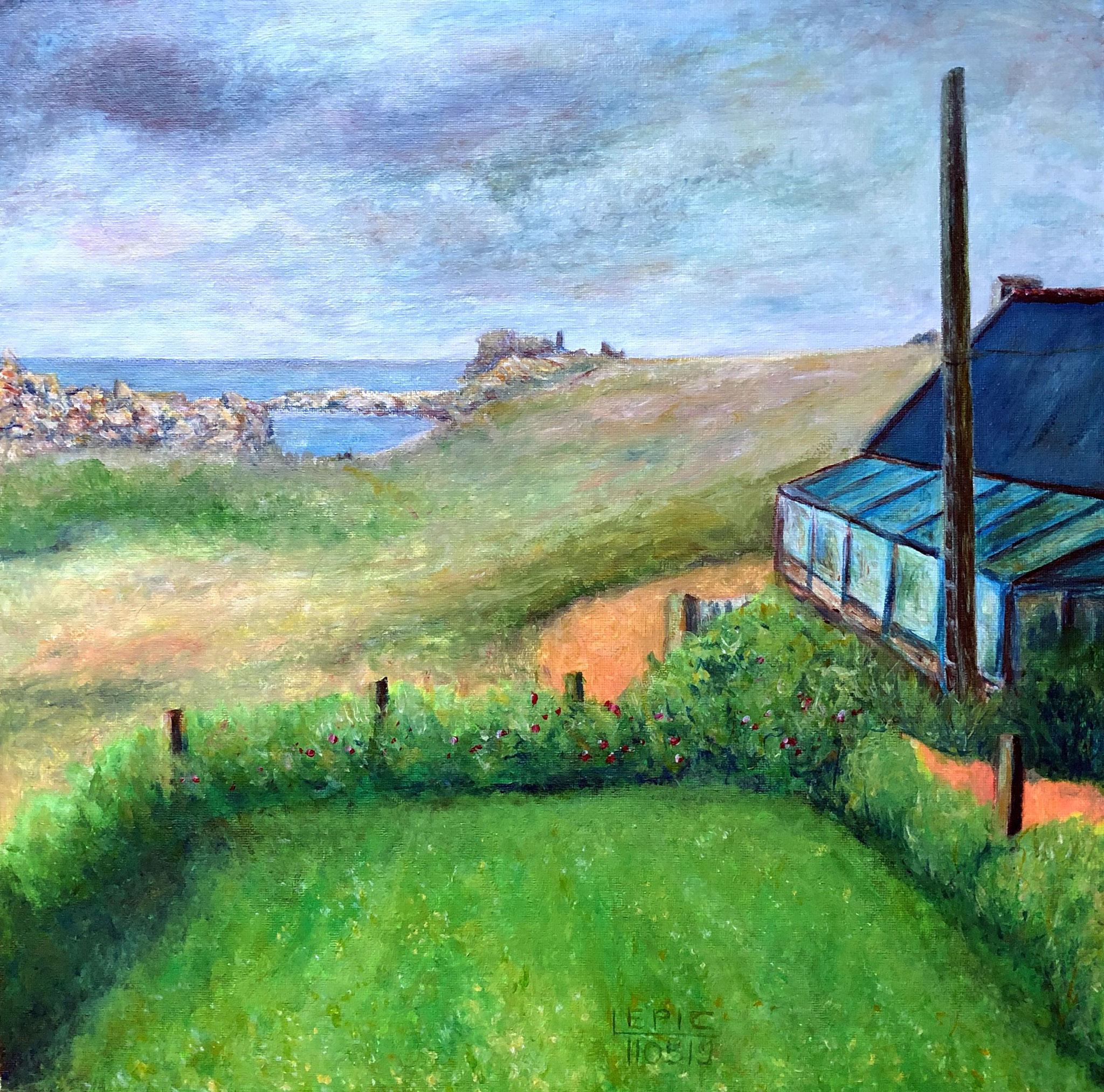 STREAT AR MOUZOU I, Acryl auf Leinwand - 40 x 40 cm