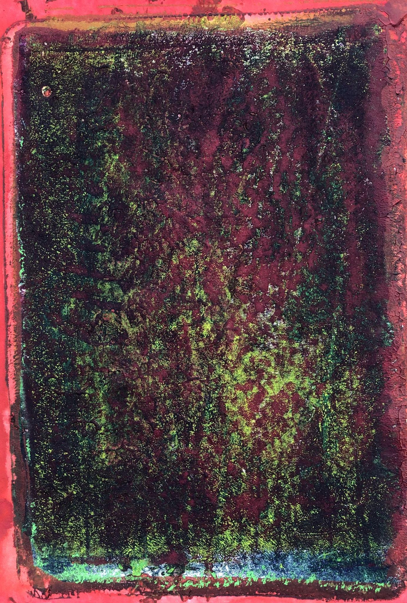 WINGS-BE BE BOP Acryl auf Papier - 36 x 48 cm