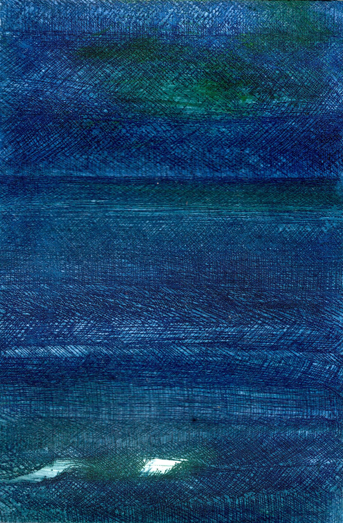 VILLERVILLE     Radierung auf Papier - 15 x 10 cm