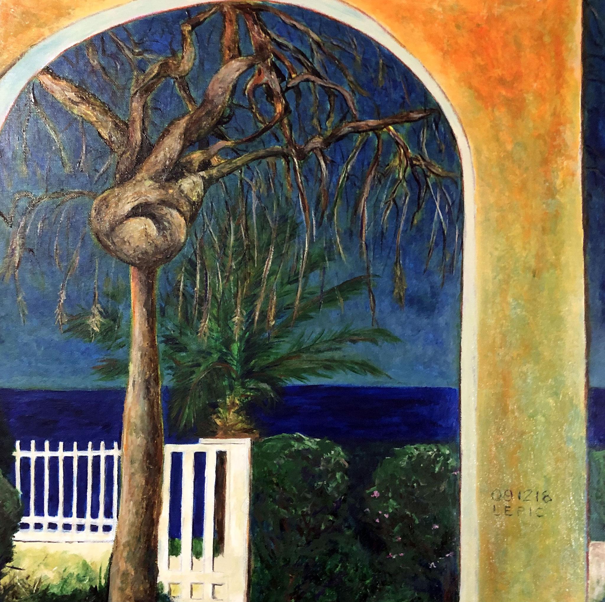 TARANTO, CORELLI      Acryl auf Leinwand - 40 x 40 cm