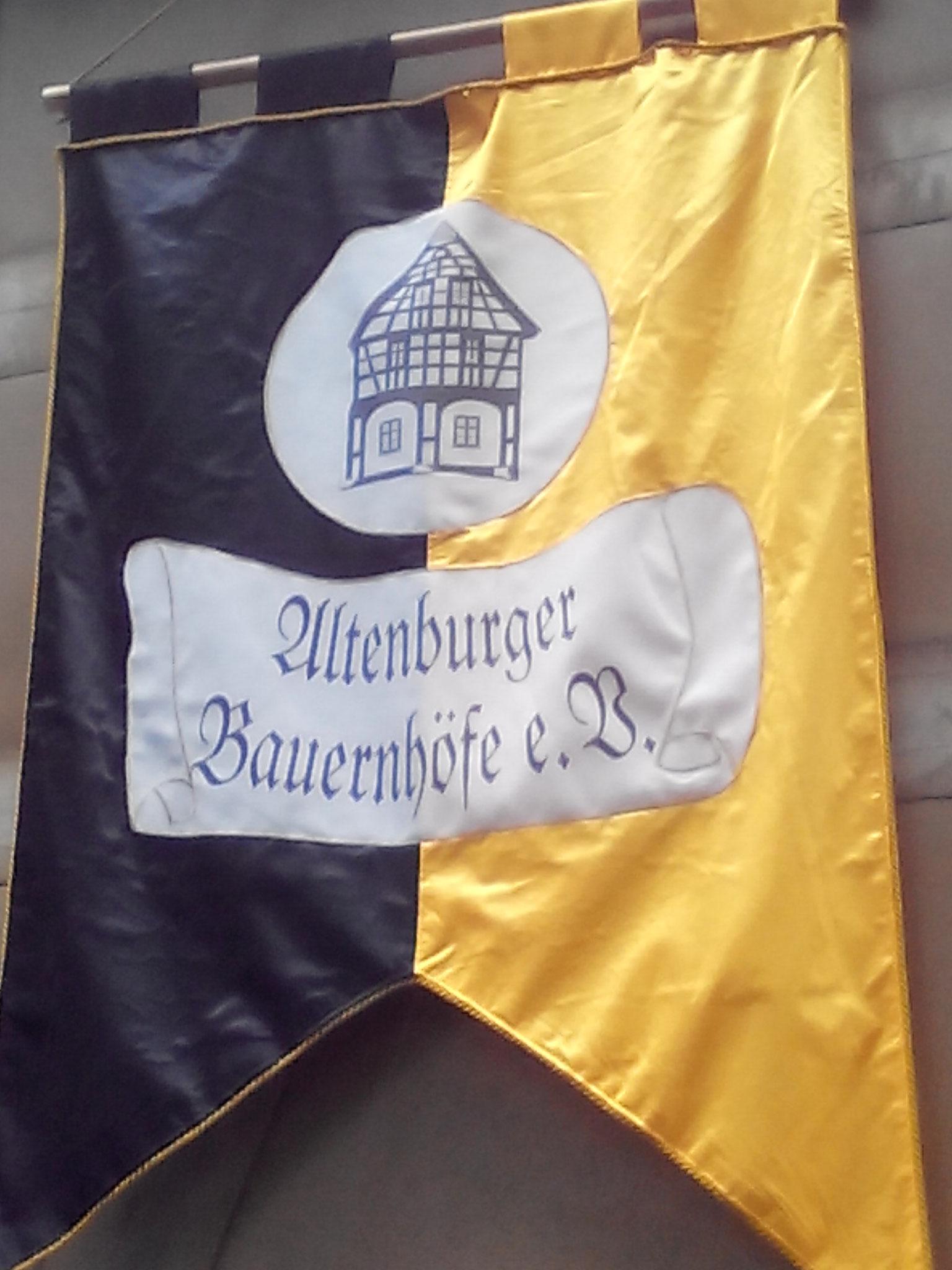 Die Flagge des Vereins