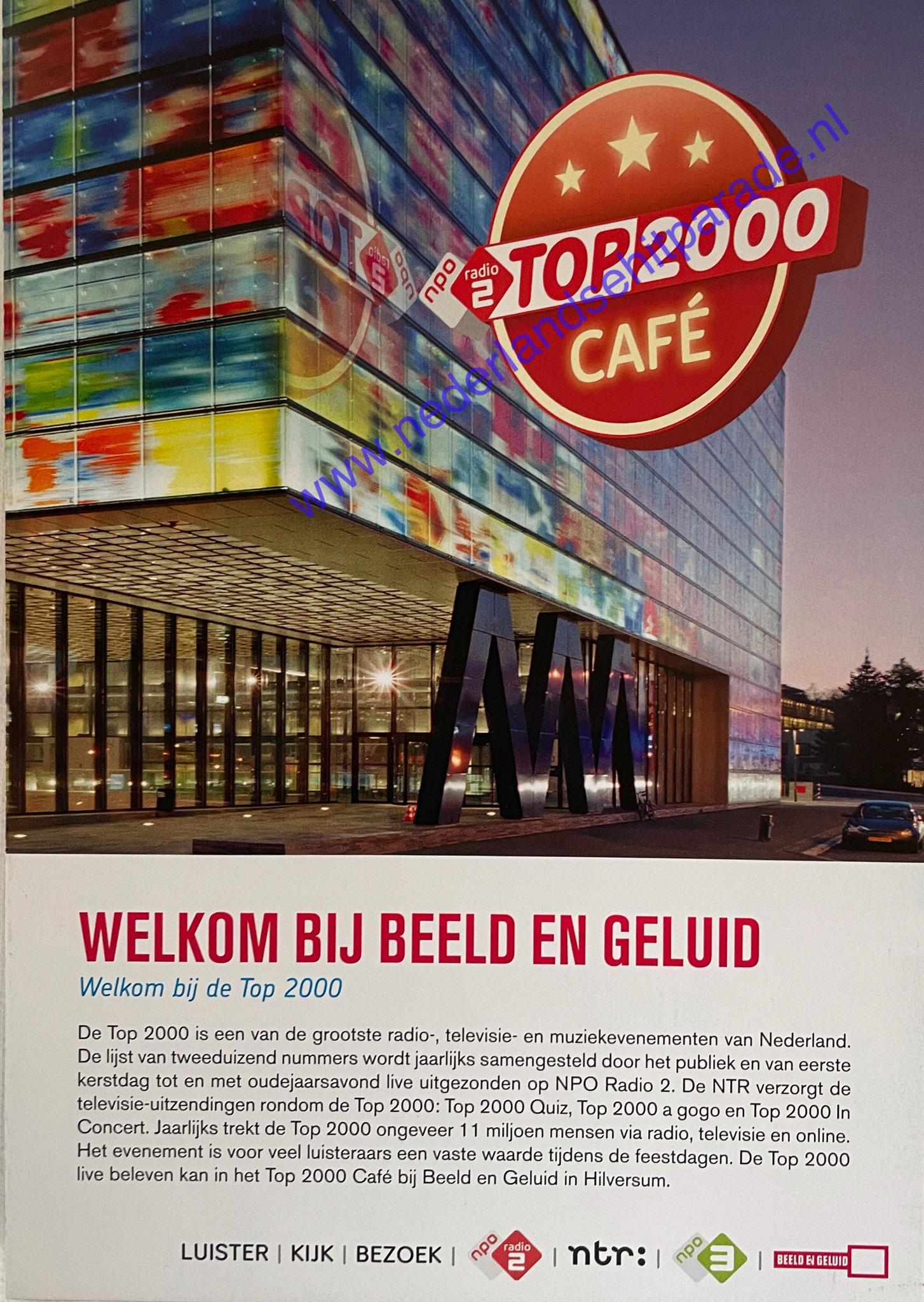Top 2000 flyer