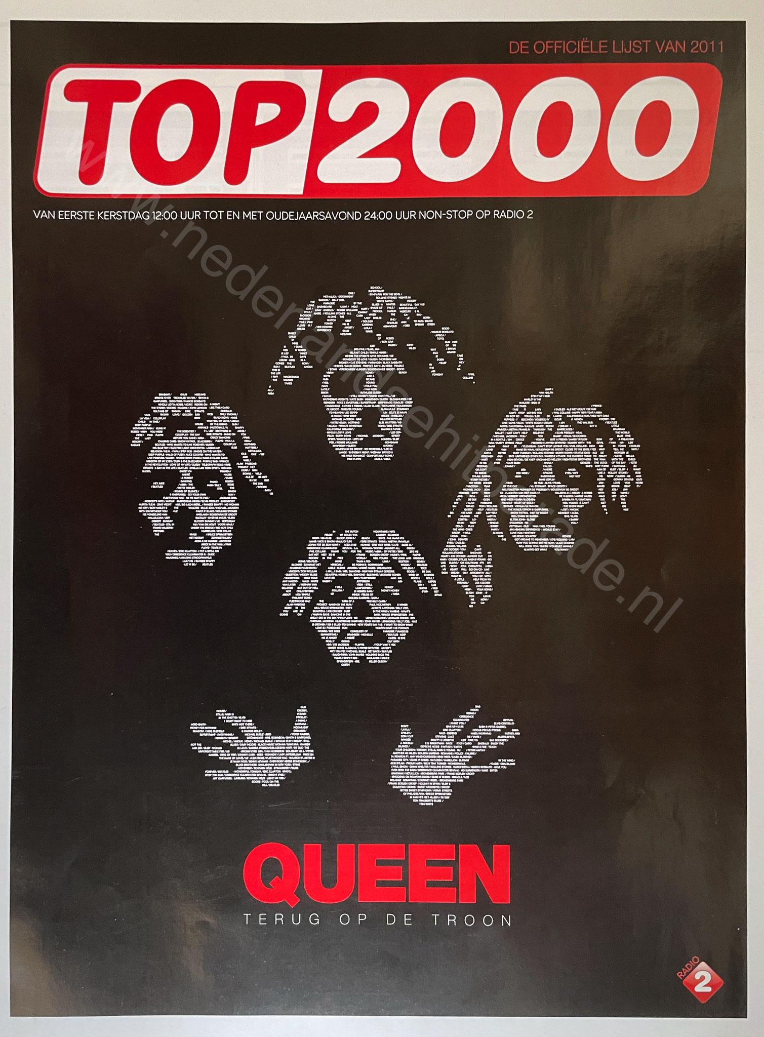 Top 2000 boekje 2011
