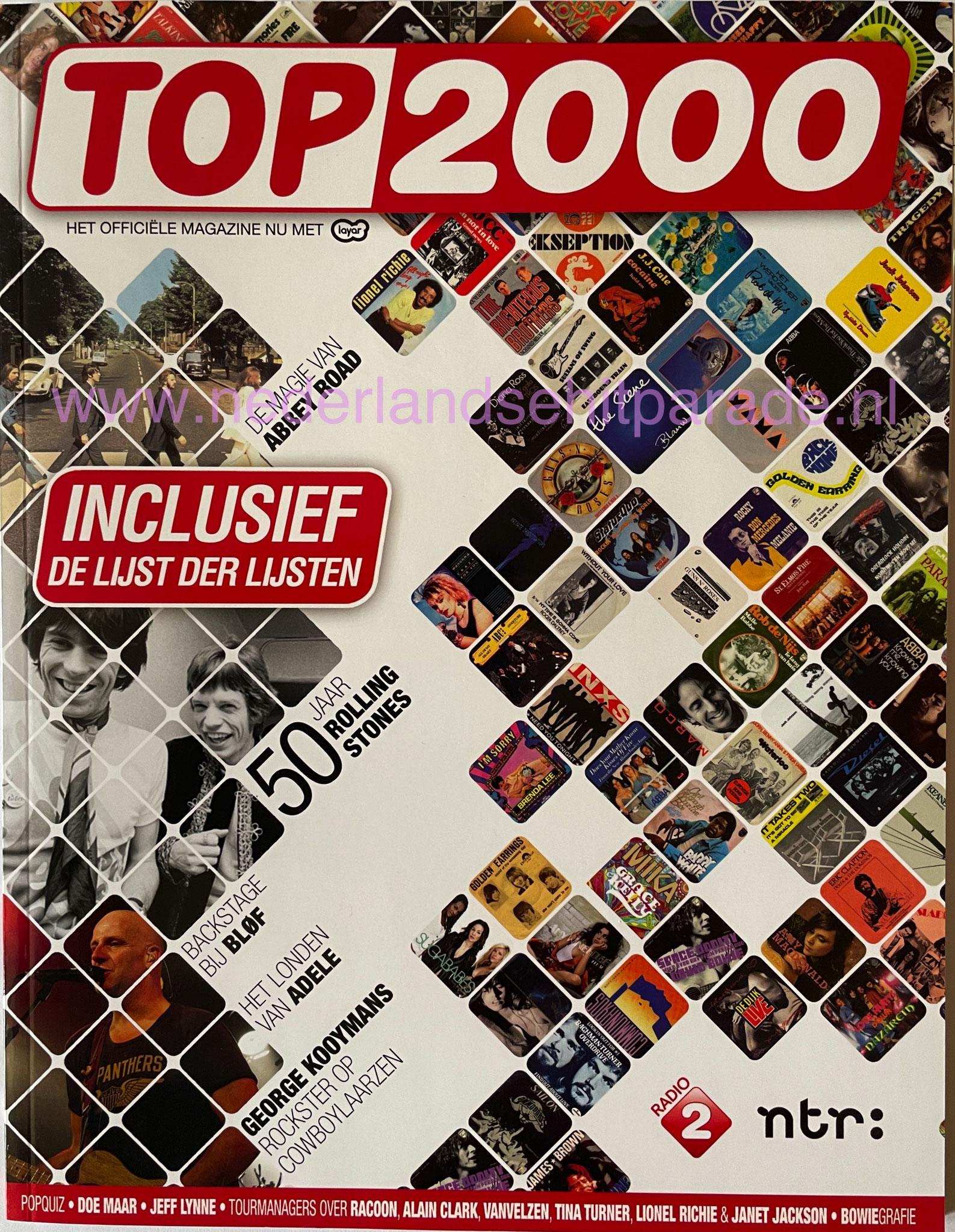 Top 2000 magazine 2012