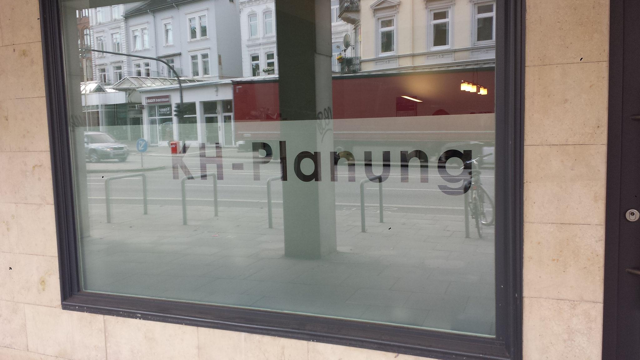 Ing.-Büro Sichtschutz Bürofenster Text freigestellt