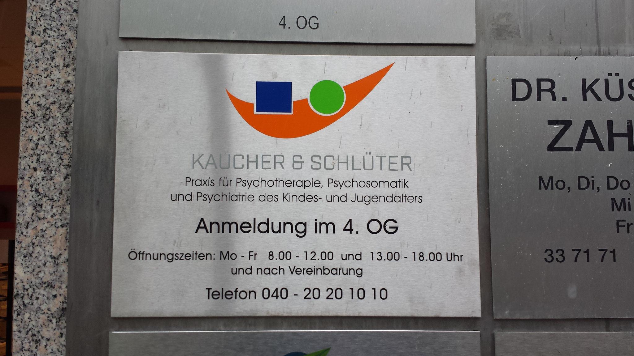 Praxisschild Arztschilder aus Plexiglas Acrylglas Hamburg Schilder