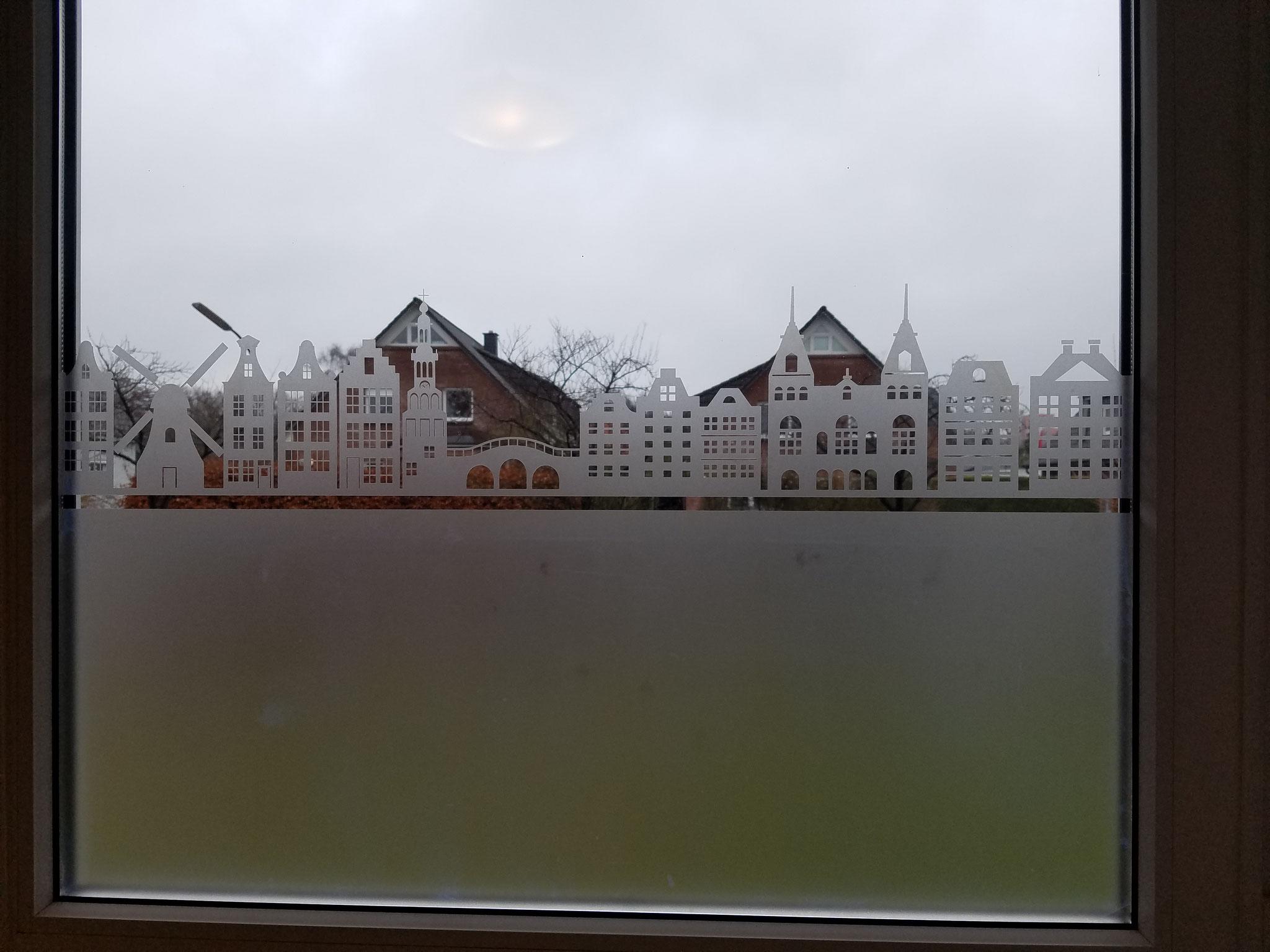 Sichtschuts Glasmattierungsfolie Amsterdam
