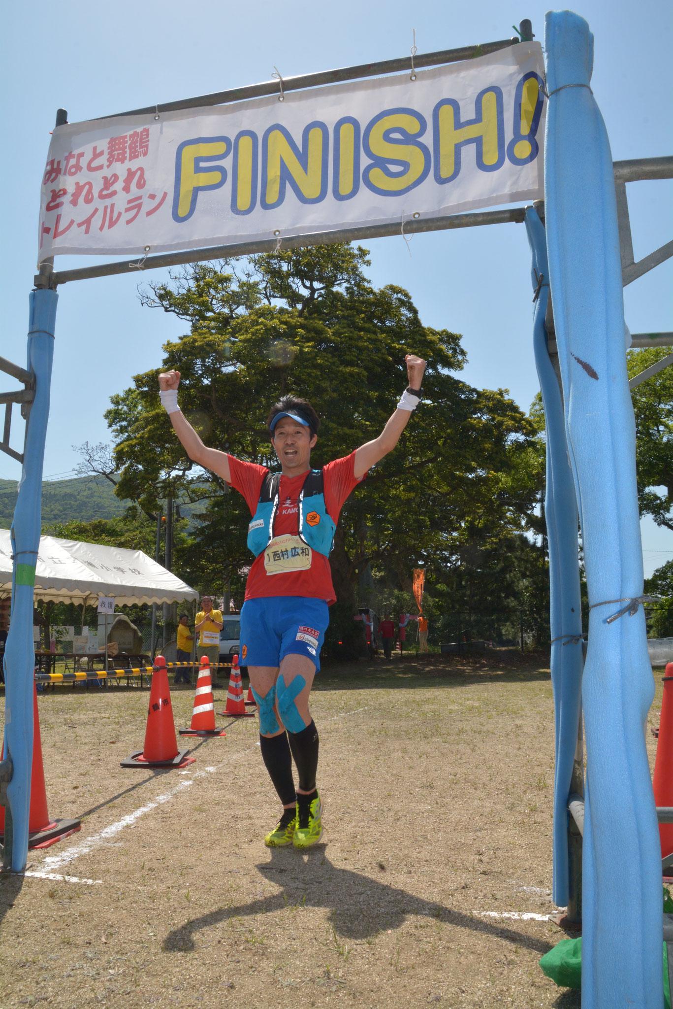 砂浜~Finish!