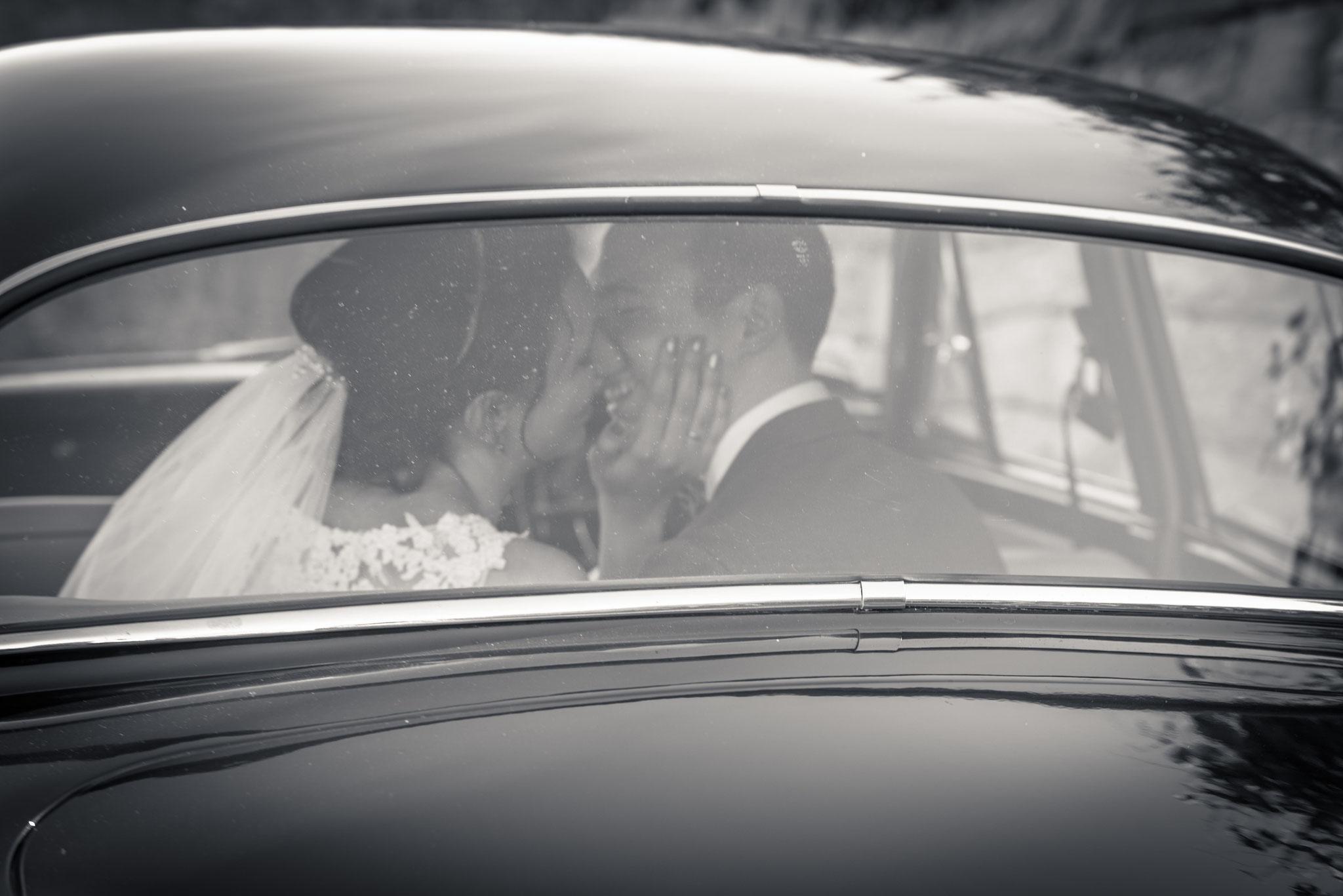 Hochzeitsauto Jaguar / Kappelrodeck