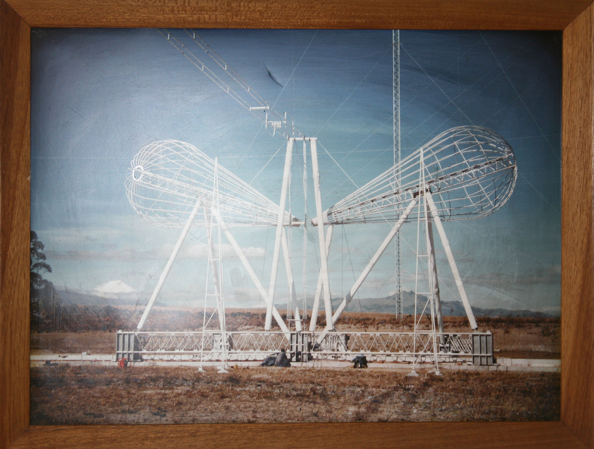 Bild mit einer der alten Antennen