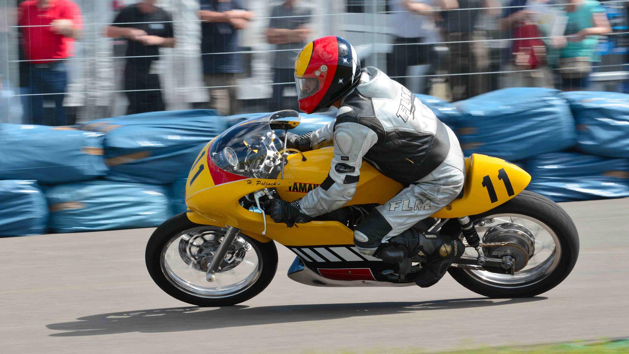 Hans Poljack / Yamaha SR500 1978