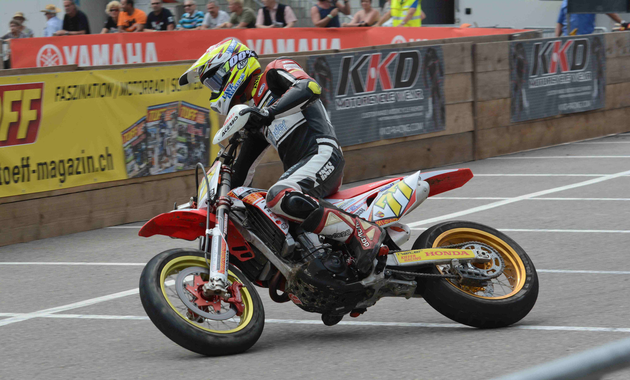 #77 Dominique Aegerter - Honda - Moto2 GP-Fahrer