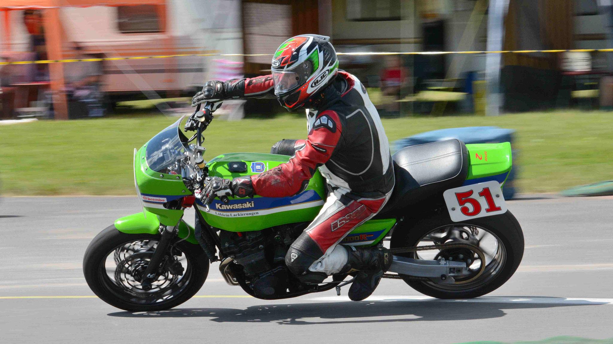 Hubert Trabold / Kawasaki Z1000 1978