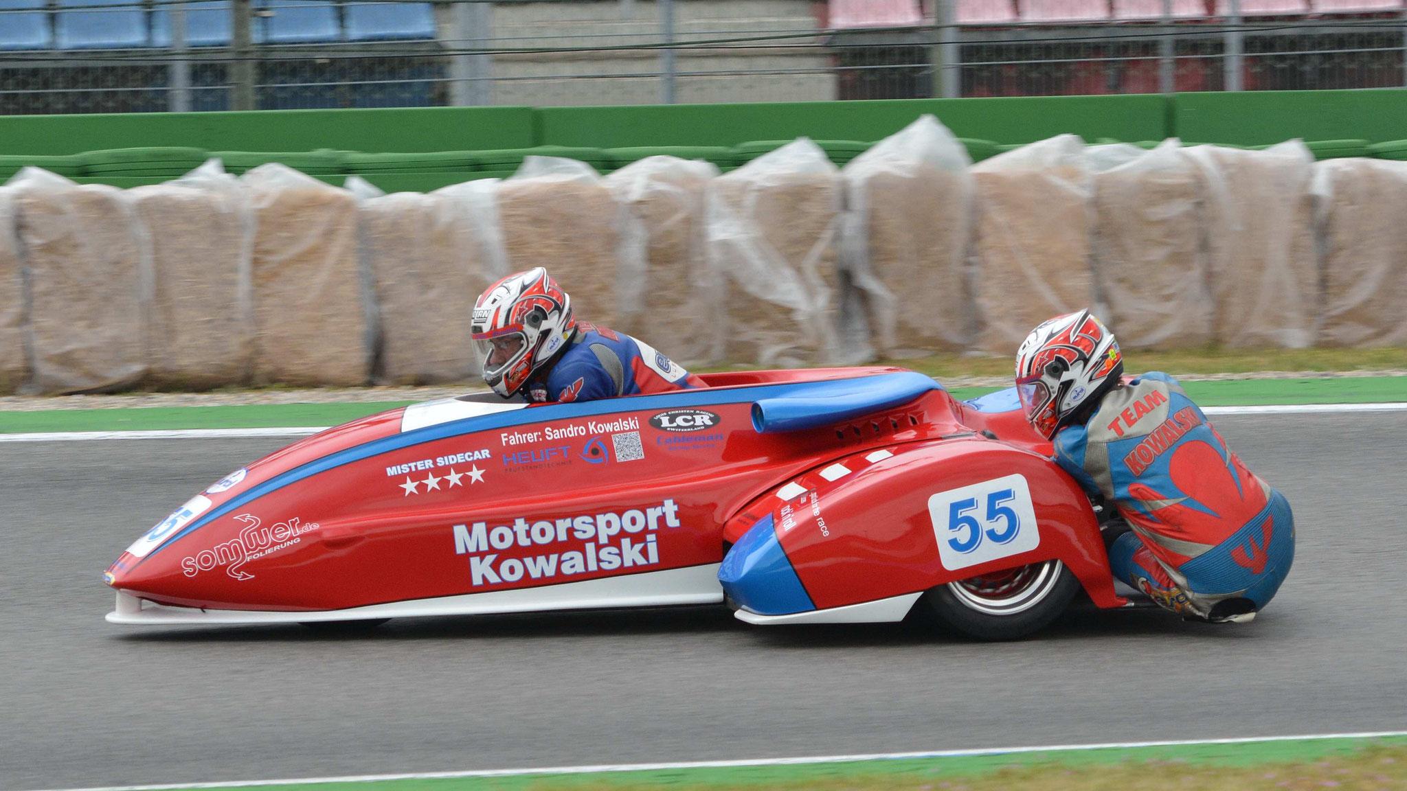 Horst Kowalski / Marcel Reimann - LCR Suzuki 1000 - Baujahr 1988