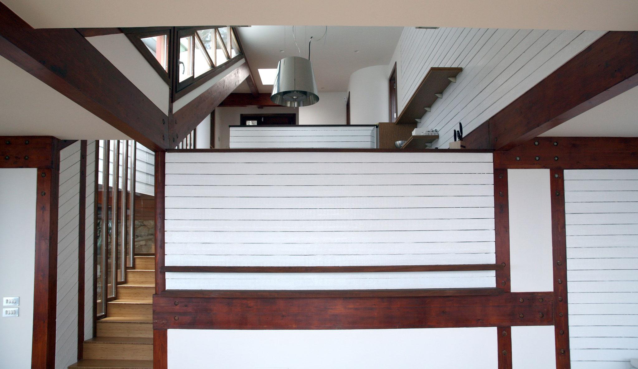 Casa Lucy.  Vista Interior. La Herradura. Granada
