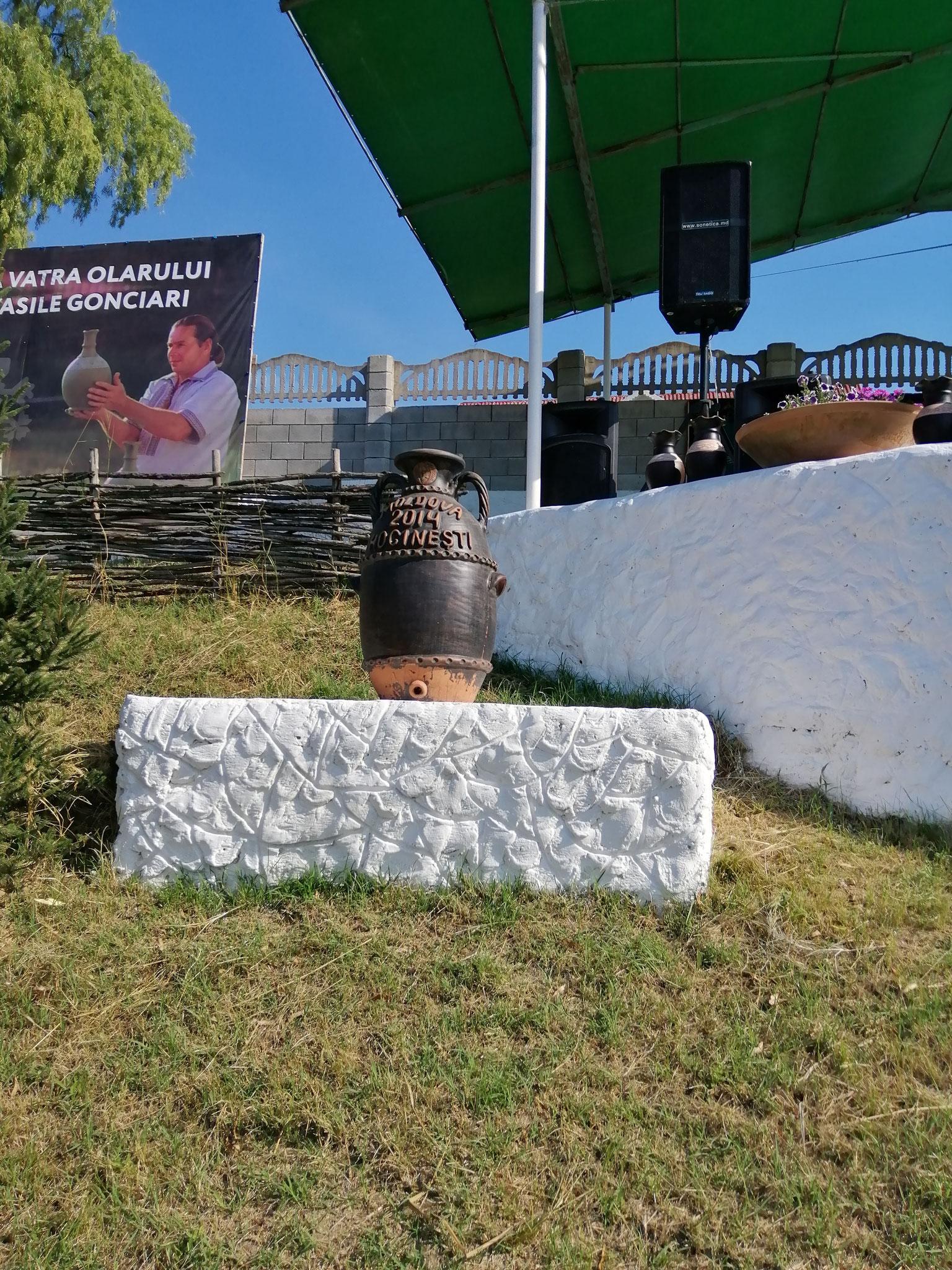 Hoginesti ,Moldova arte di ceramica festival