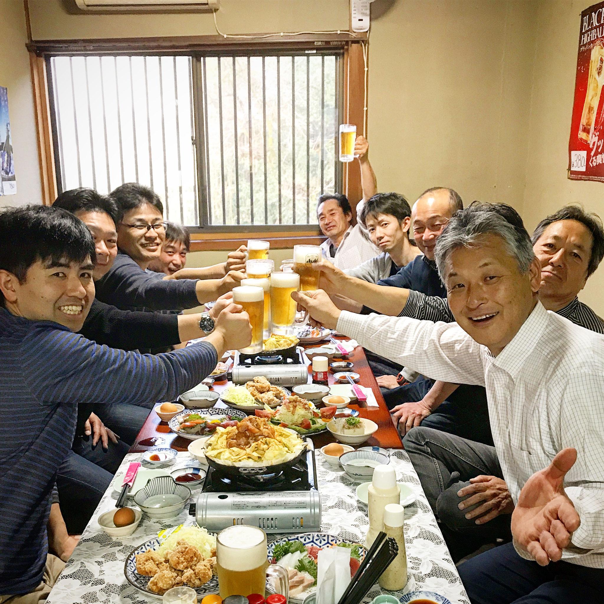 ご近所の班の集まりの飲み会にもおつかいいただいております。