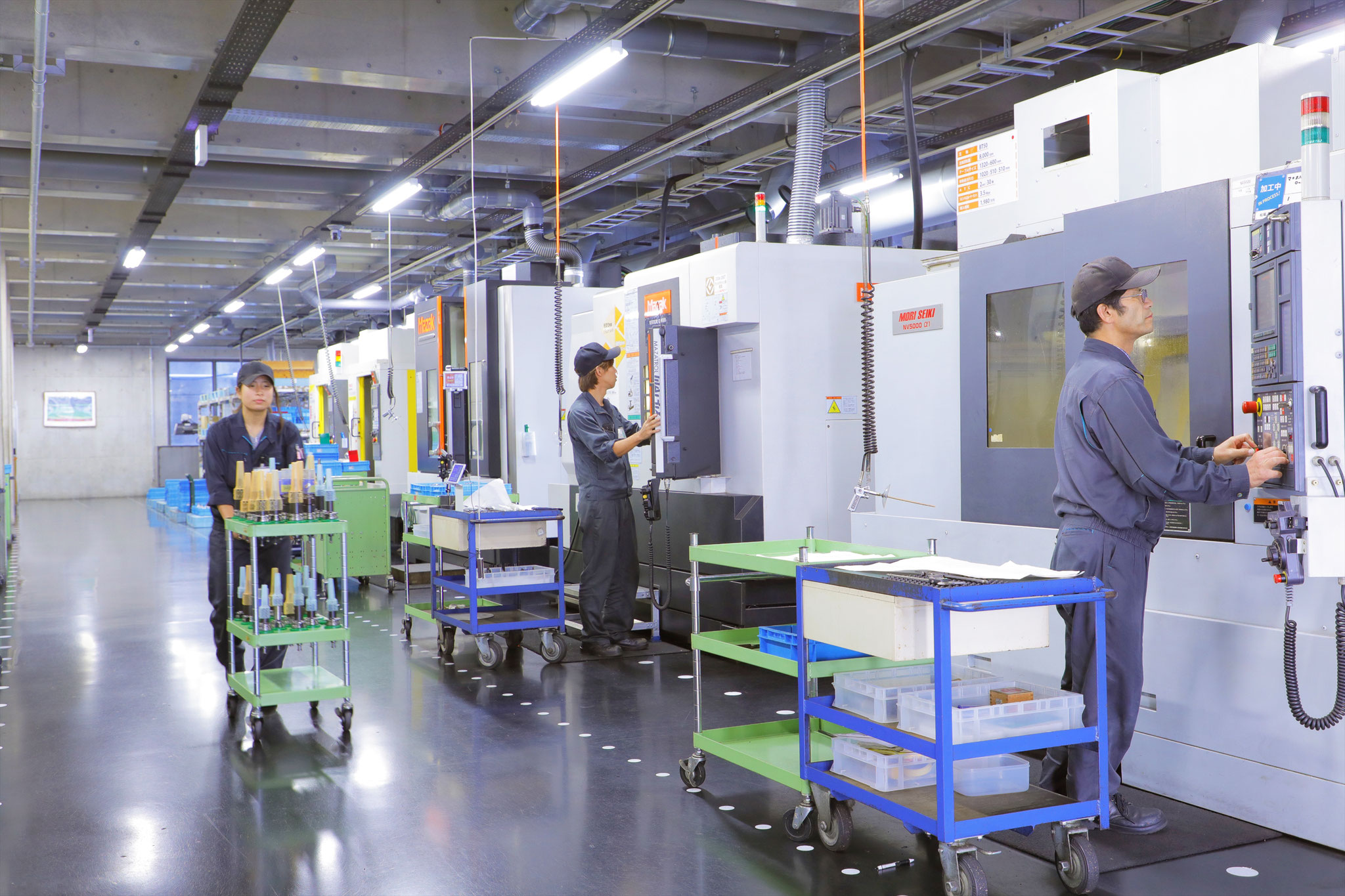 ツーリング製造工場