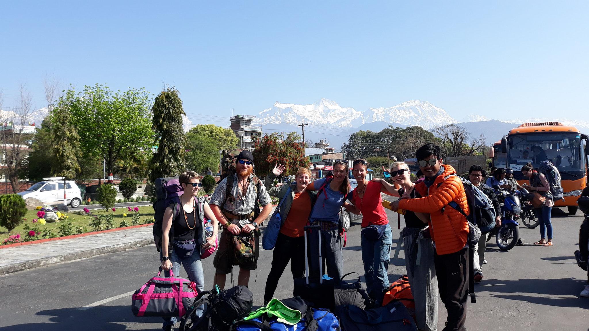 Rückflug von Pokhara nach Kathmandu