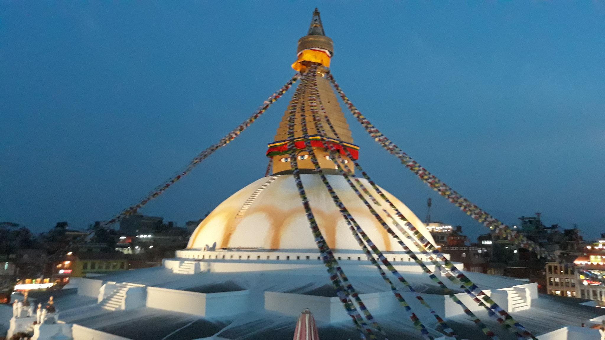 Kathmandu Buddha Stupa