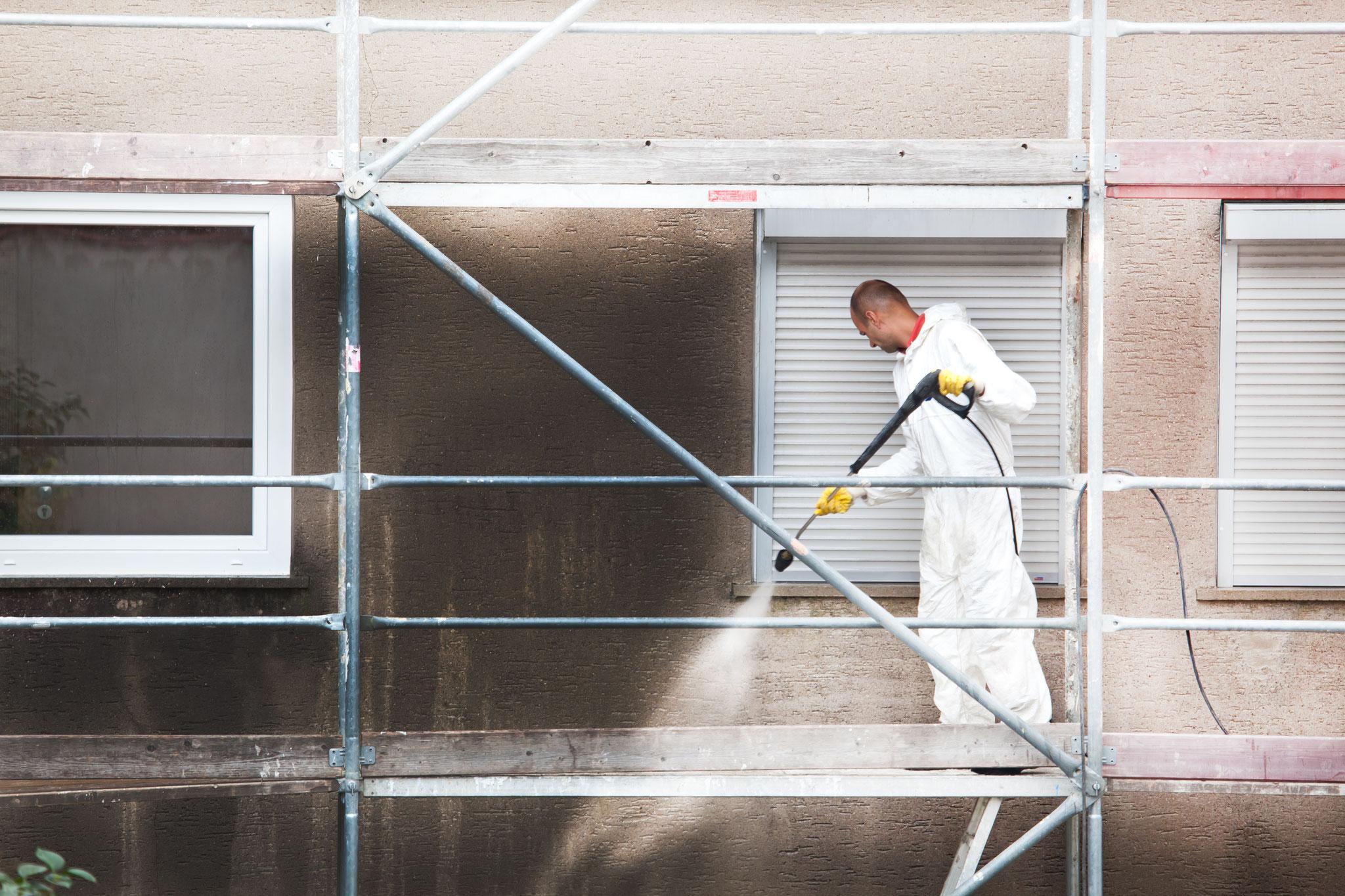 Fassadenreinigung mit Bauko und Partner, Santa Ponsa, Mallorca