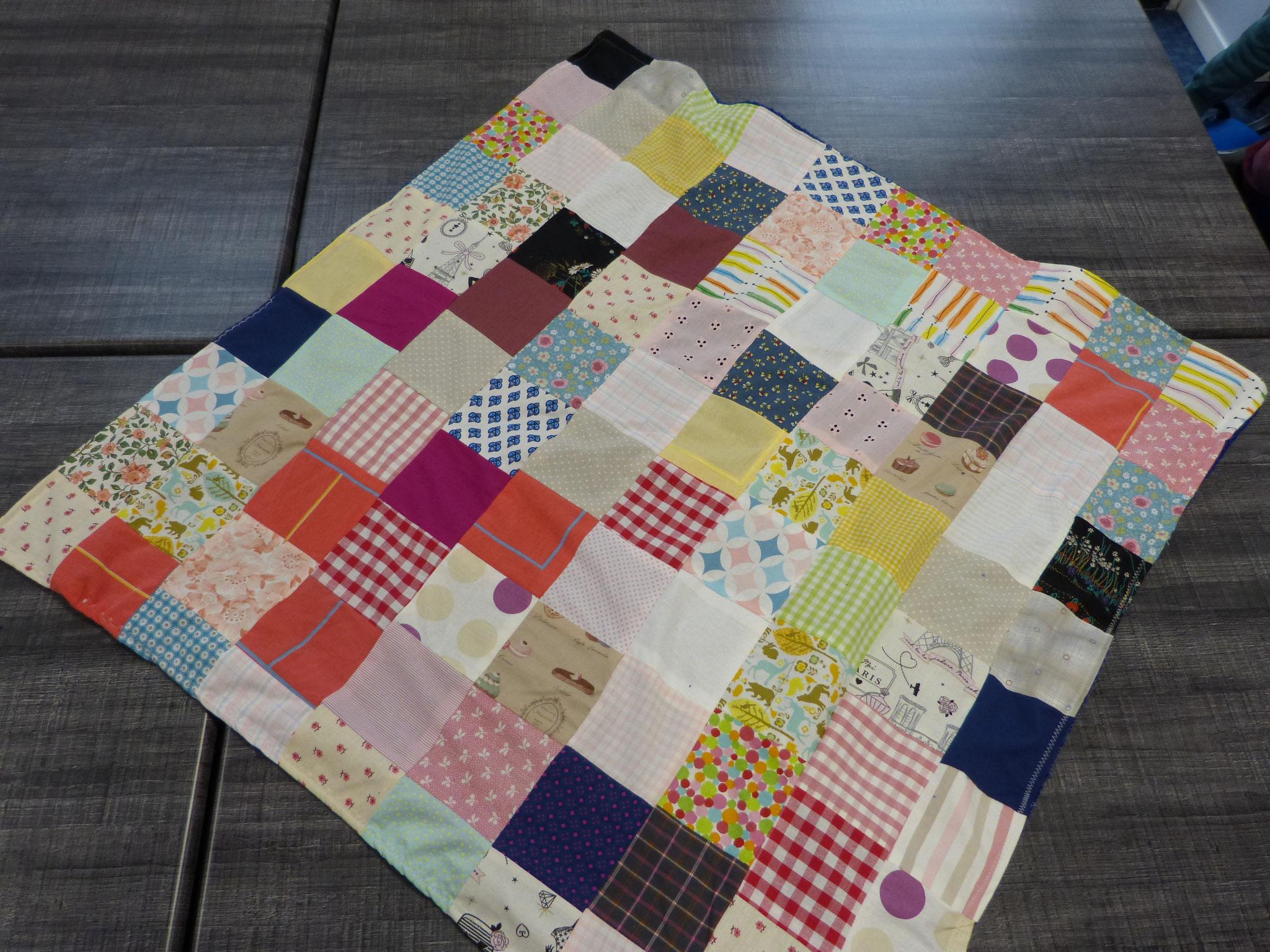 Toutes les idées sont bonnes - Plaid patchwork