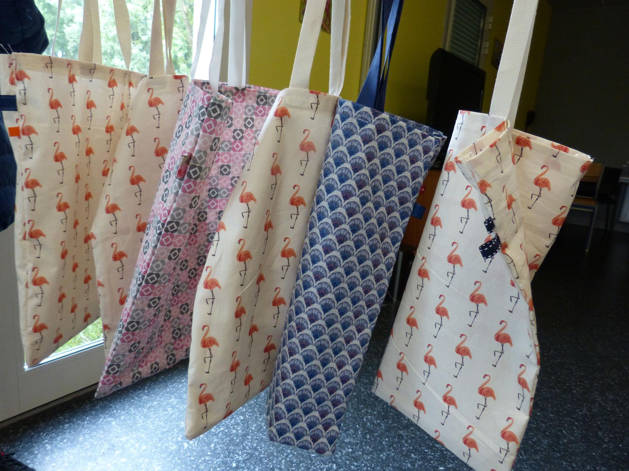 Toutes les idées sont bonnes - confection d'un tote bag