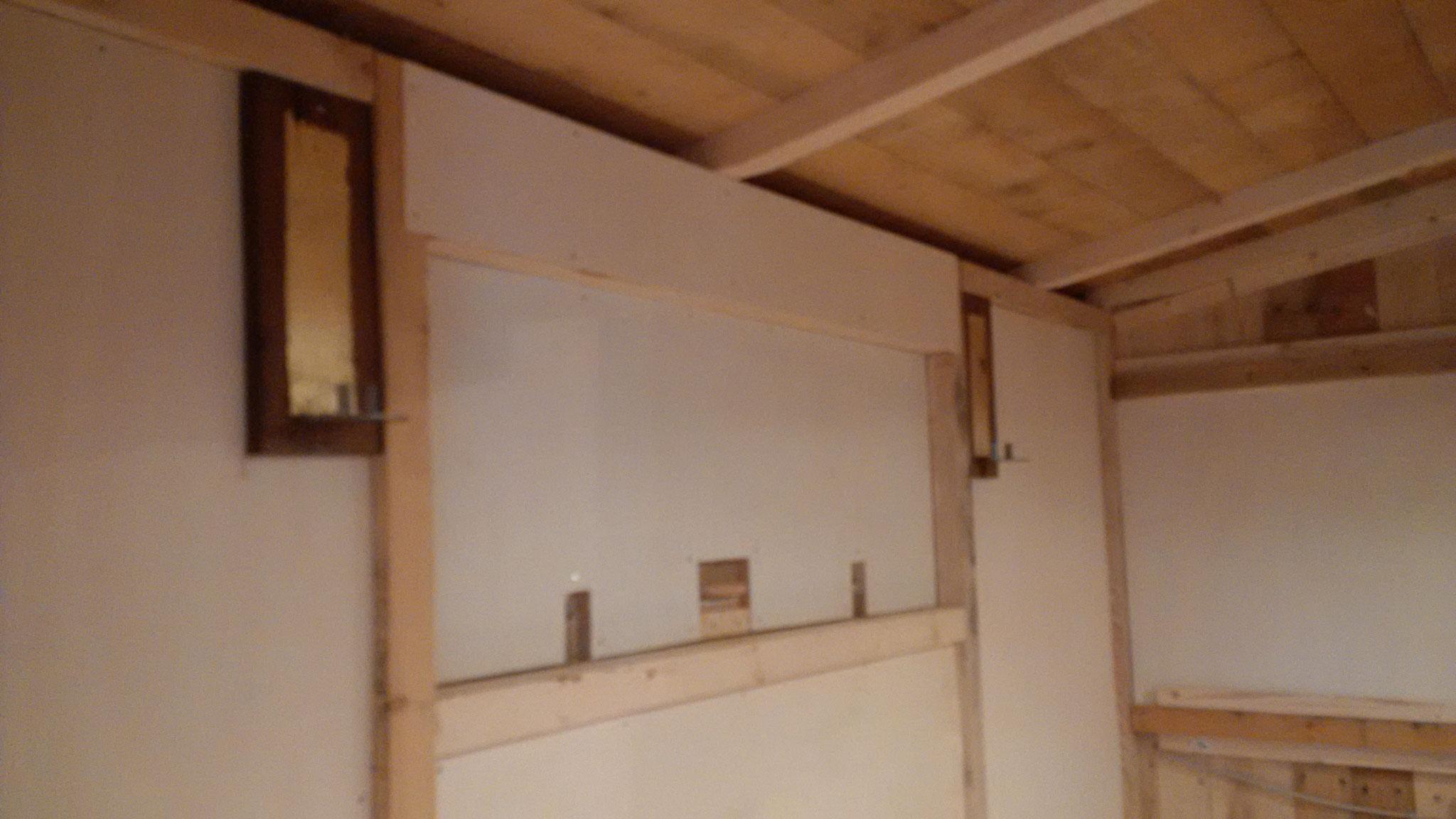 Die Wände wirken nun, dank Multiplexplatten, ästhetisch herausragend.