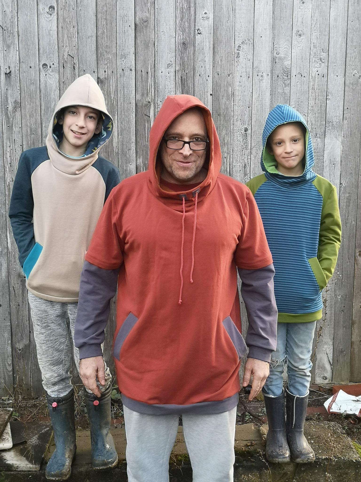 SM: Chilly Sweater Kids und Men von Sewera