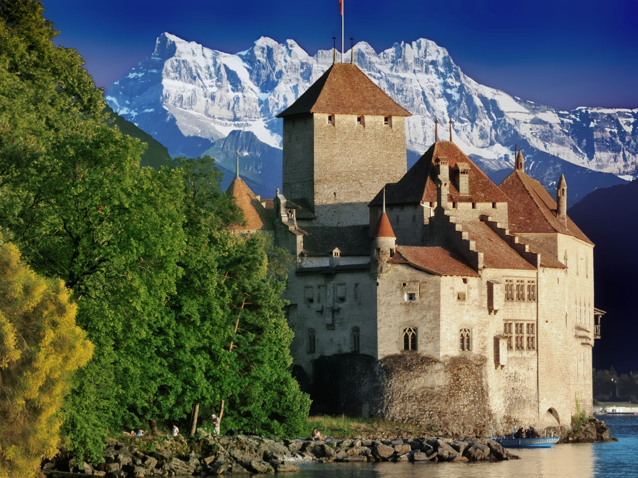 Chateau de chillon (visite ok)