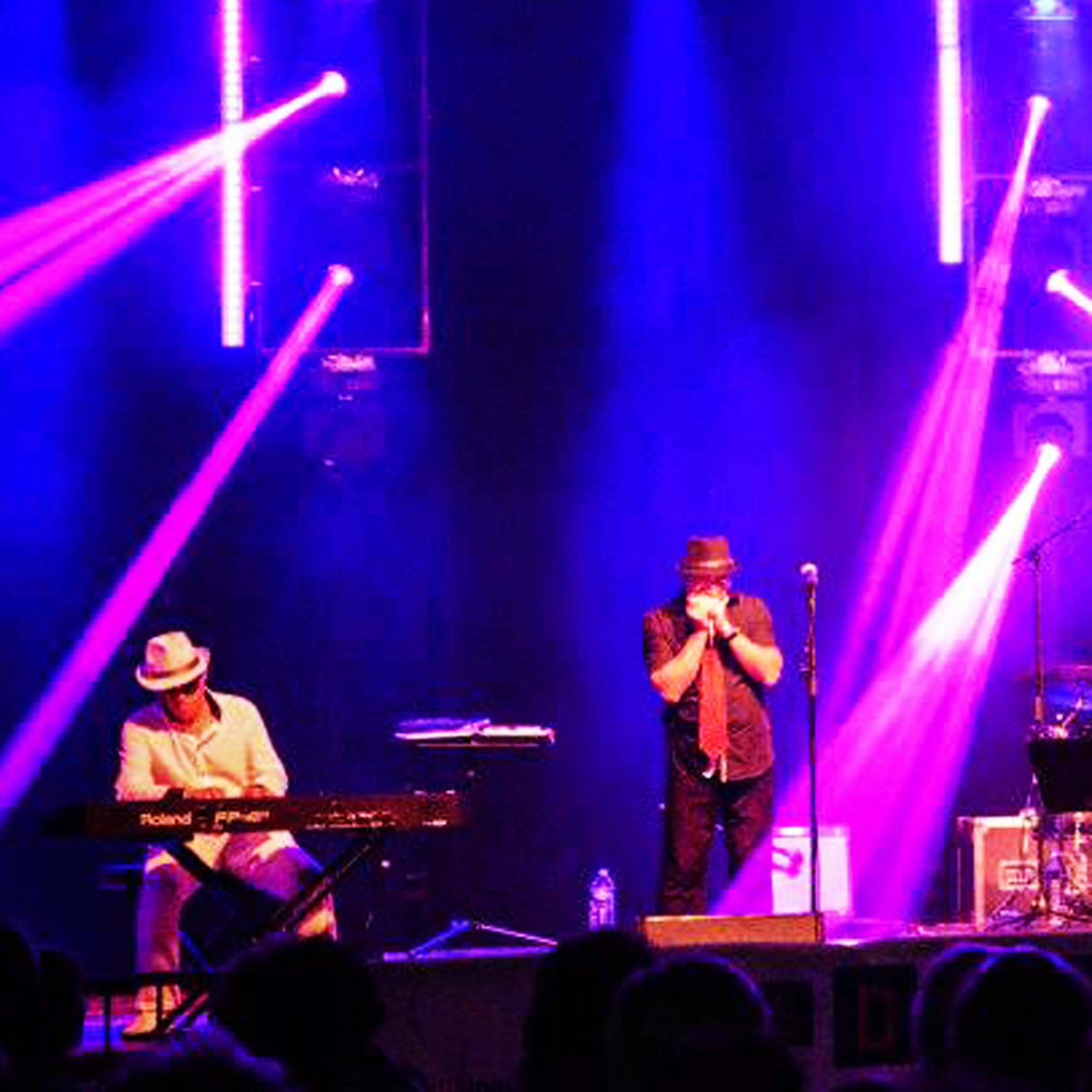 """Jean-Louis & Marc. Festival """"Les Découvertes Sonores"""" à St.Raphël (83) en 2014."""