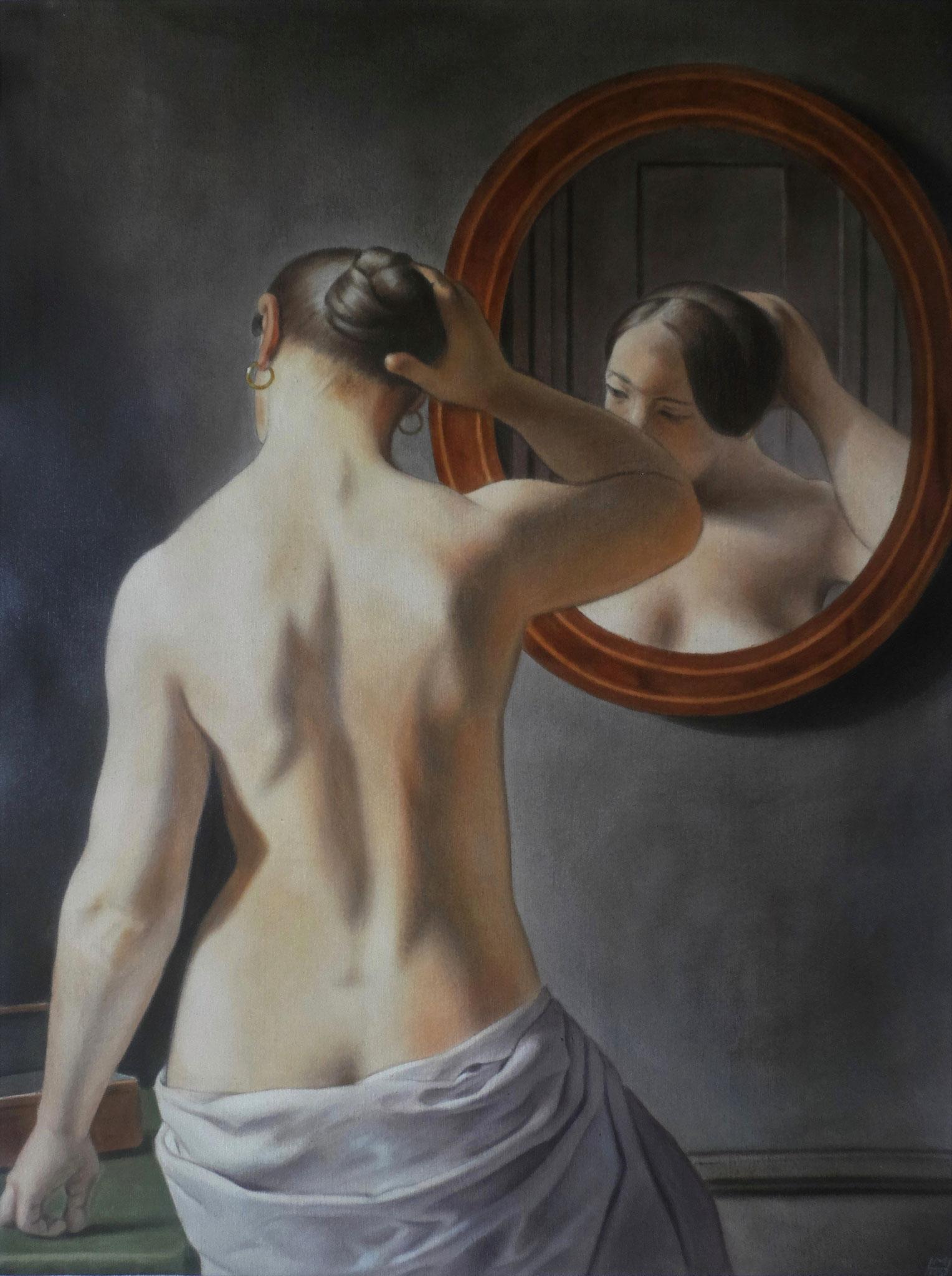 Kopie nach C. W. Eckersberg, Akryl auf Leinwand, 88 x 116 cm