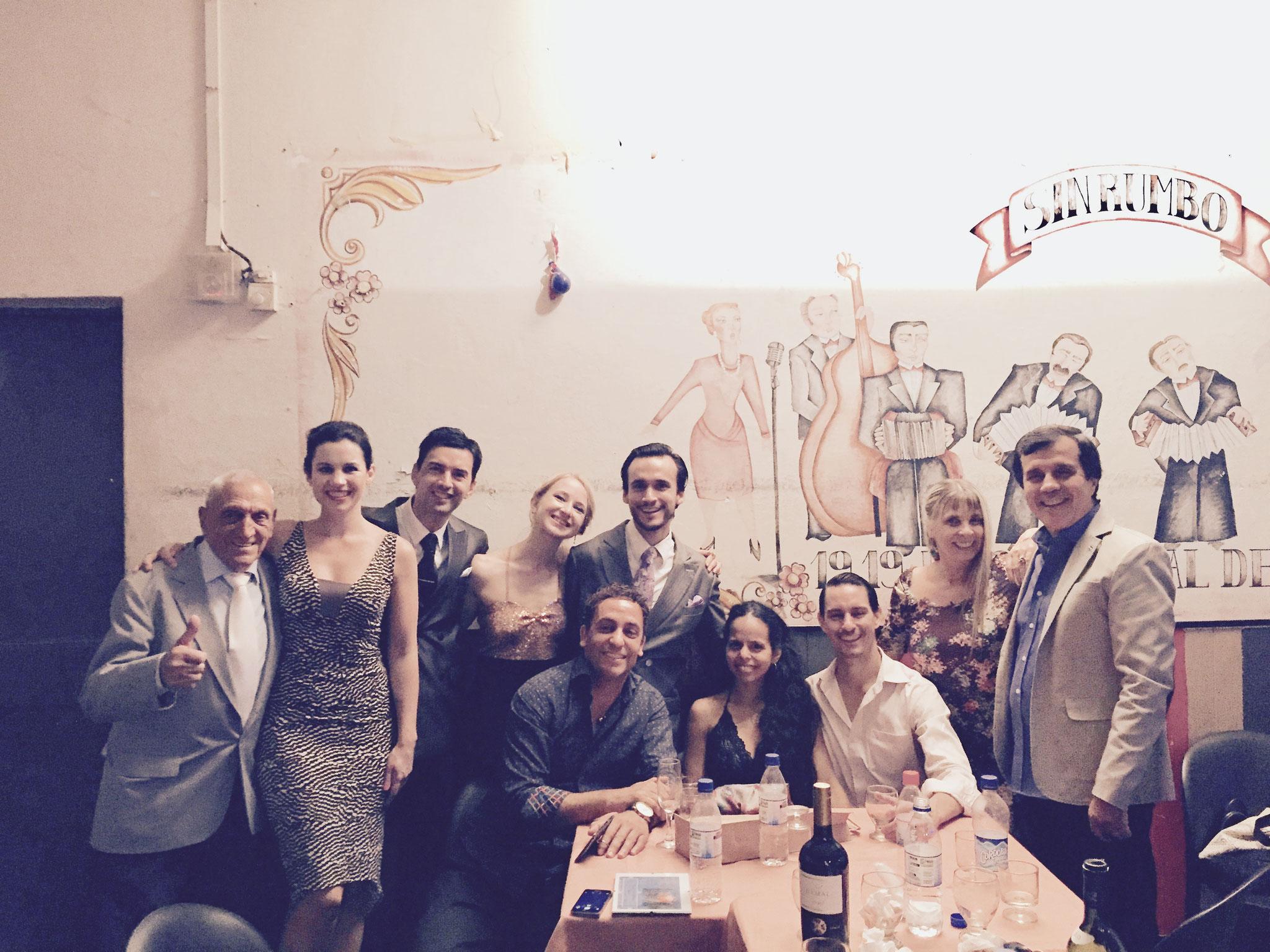 mit Freunden im Sin Rumbo