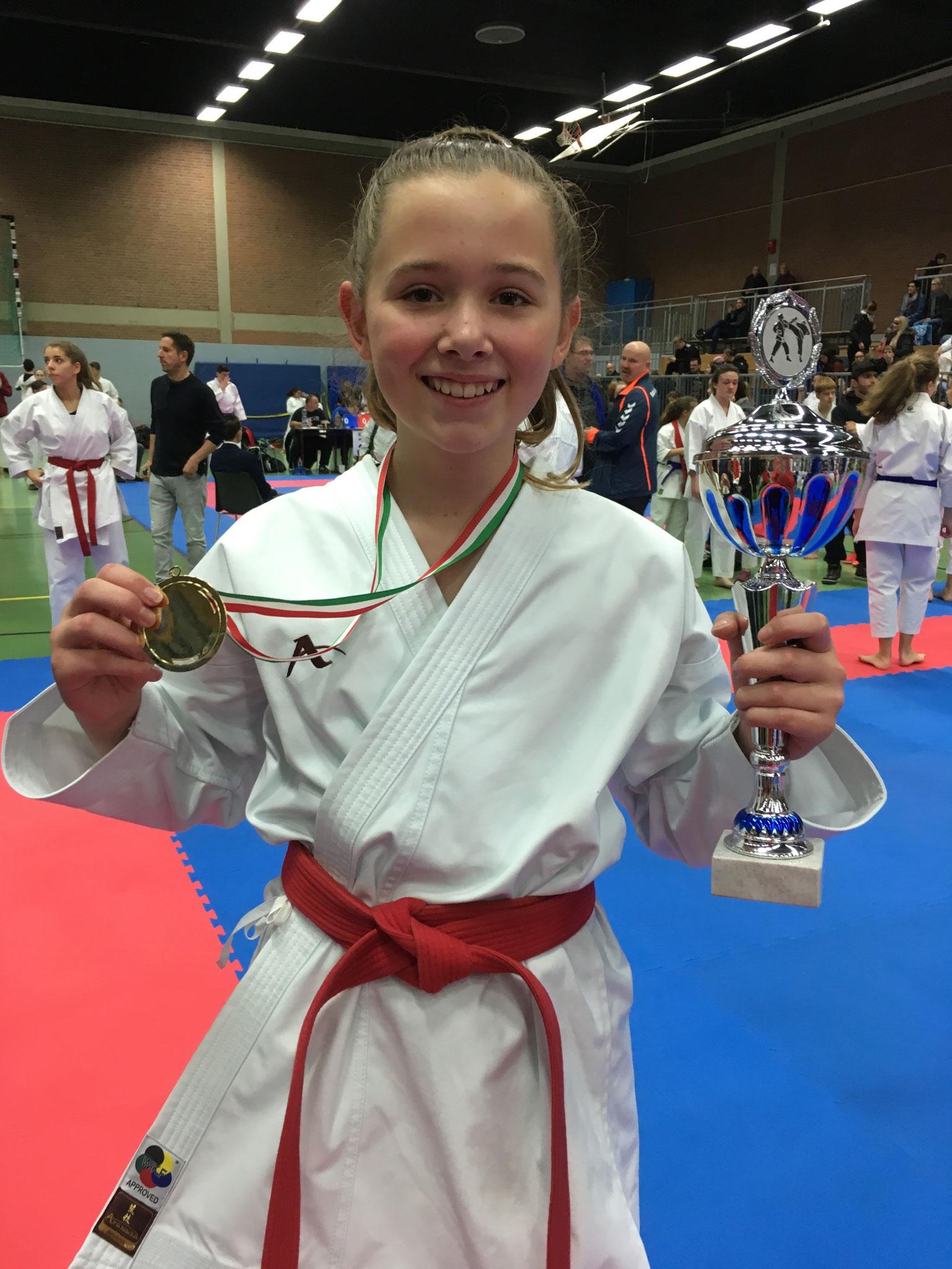 Gold für Louisa Jahn – Glückwunsch!