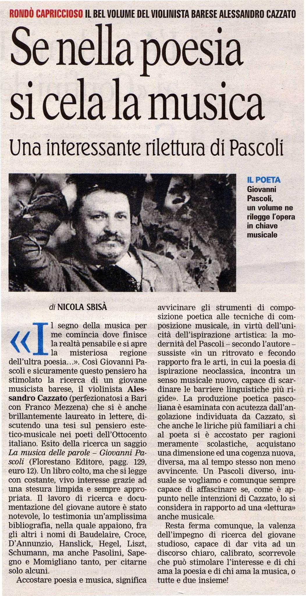 """""""La Gazzetta del Mezzogiorno"""""""